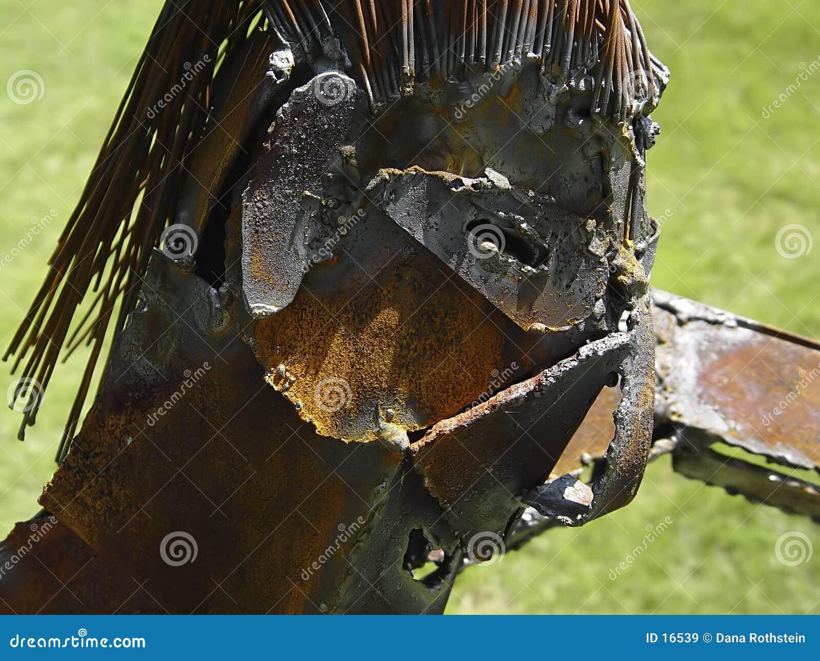 Het Beeldhouwwerk van het metaal