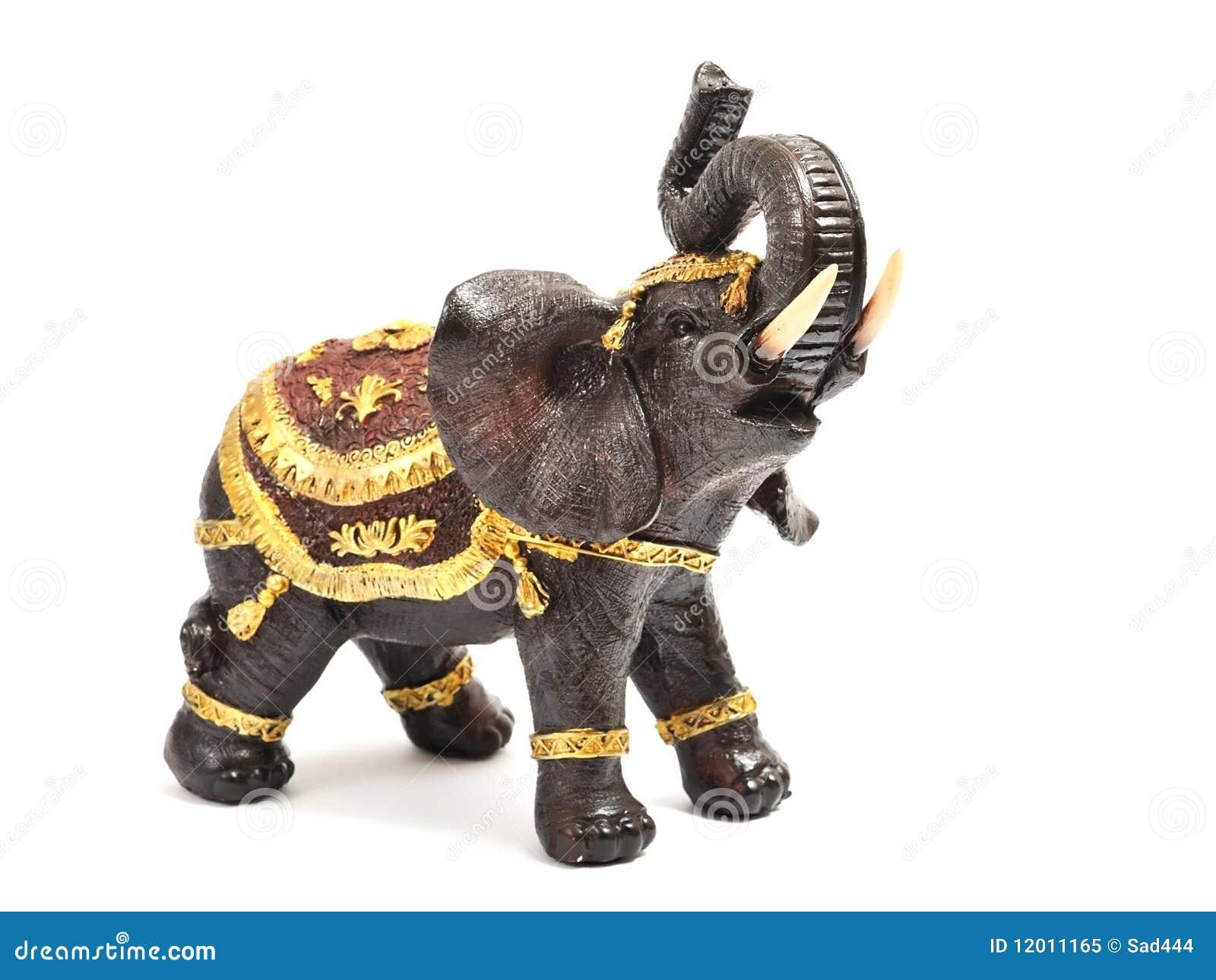 Het beeldje van de olifant