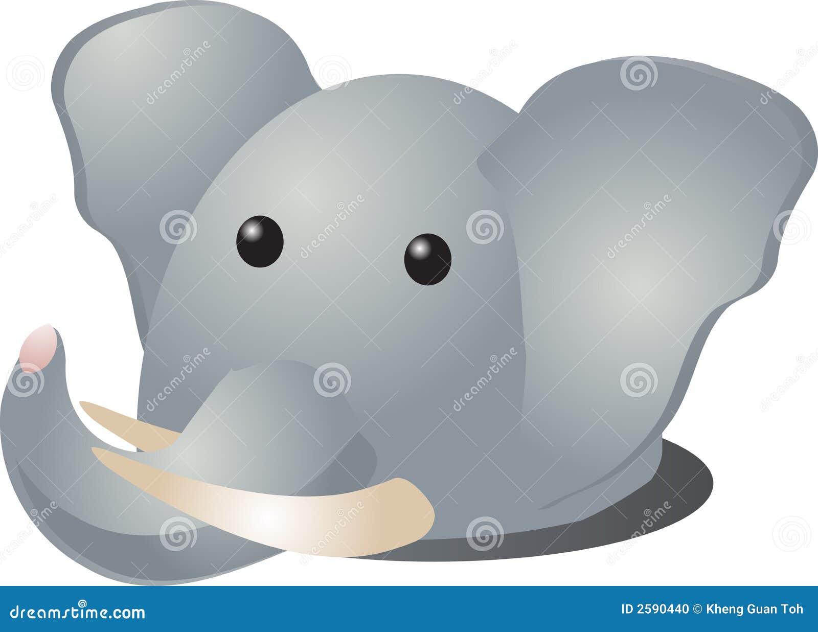 Het beeldverhaal van de olifant