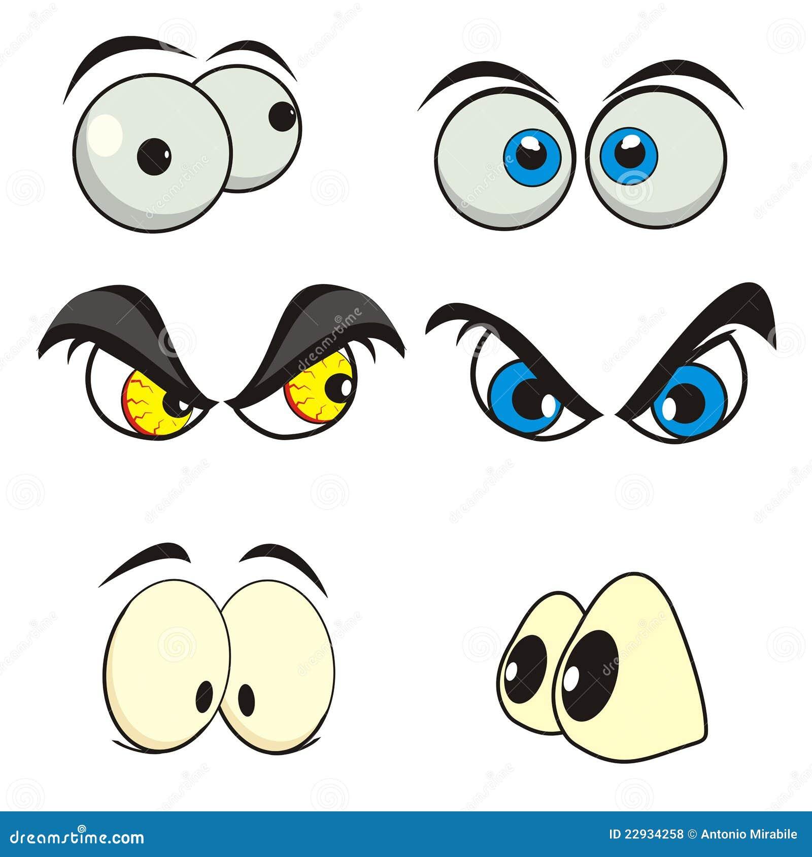 Het beeldverhaal van ogen