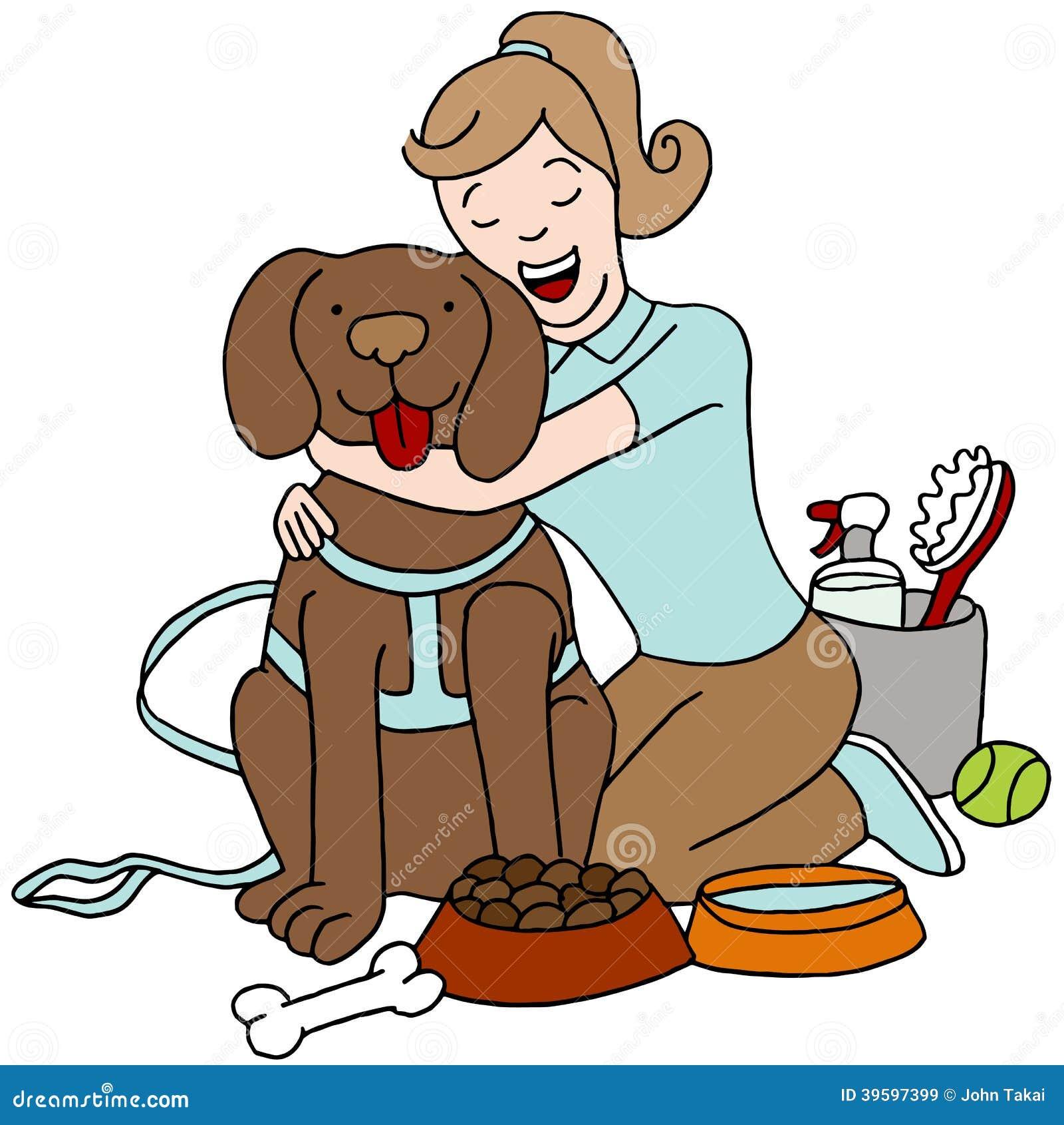Het behandelen van Hond