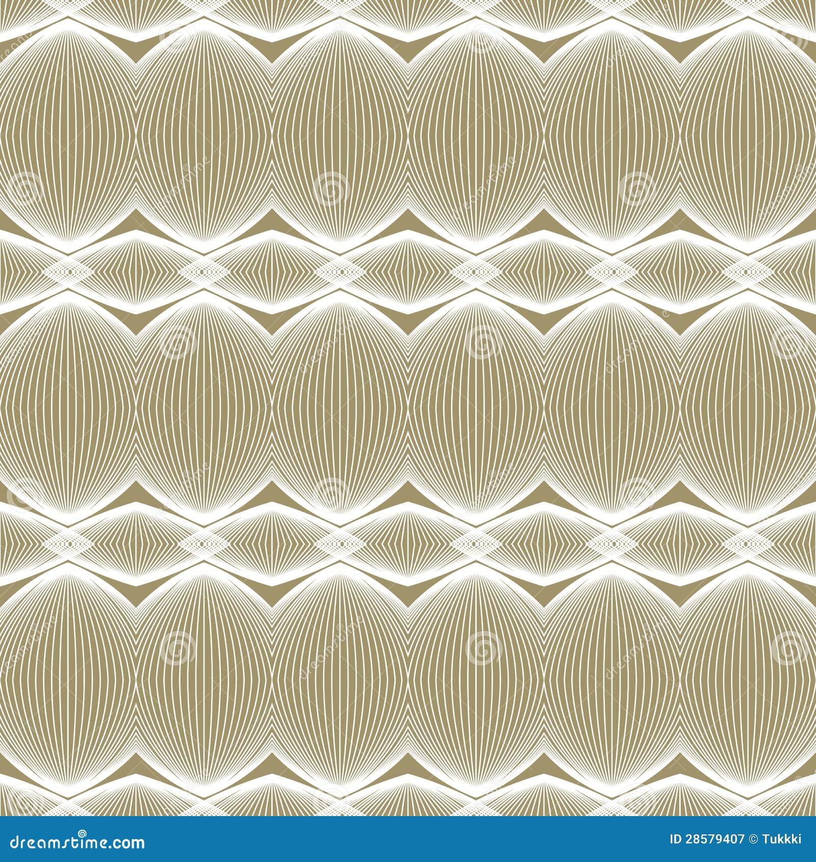 Het beige en witte lineaire patroon van de luxe