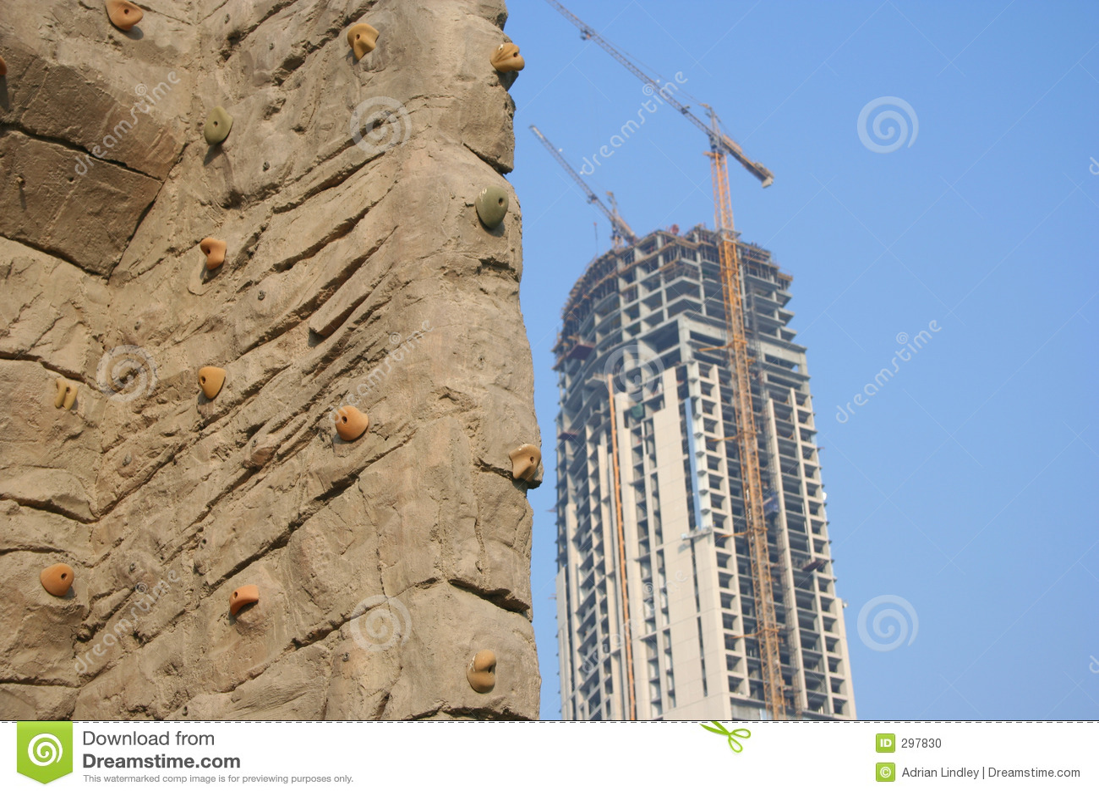 Het beklimmen van Muur