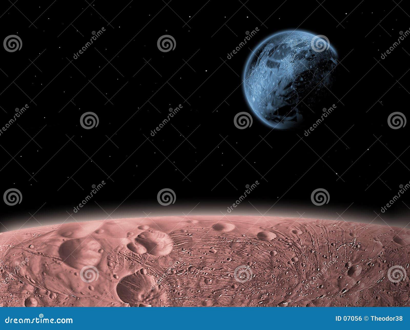 Het benieuwd zijn in ruimte
