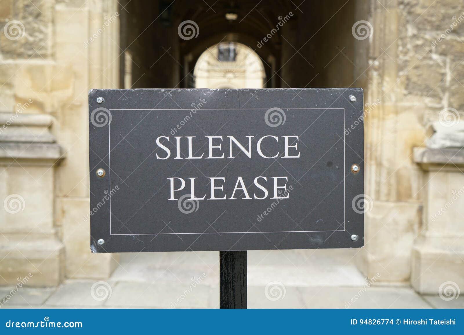 Het Bericht van de stilte tevreden:stellen-Bibliotheek