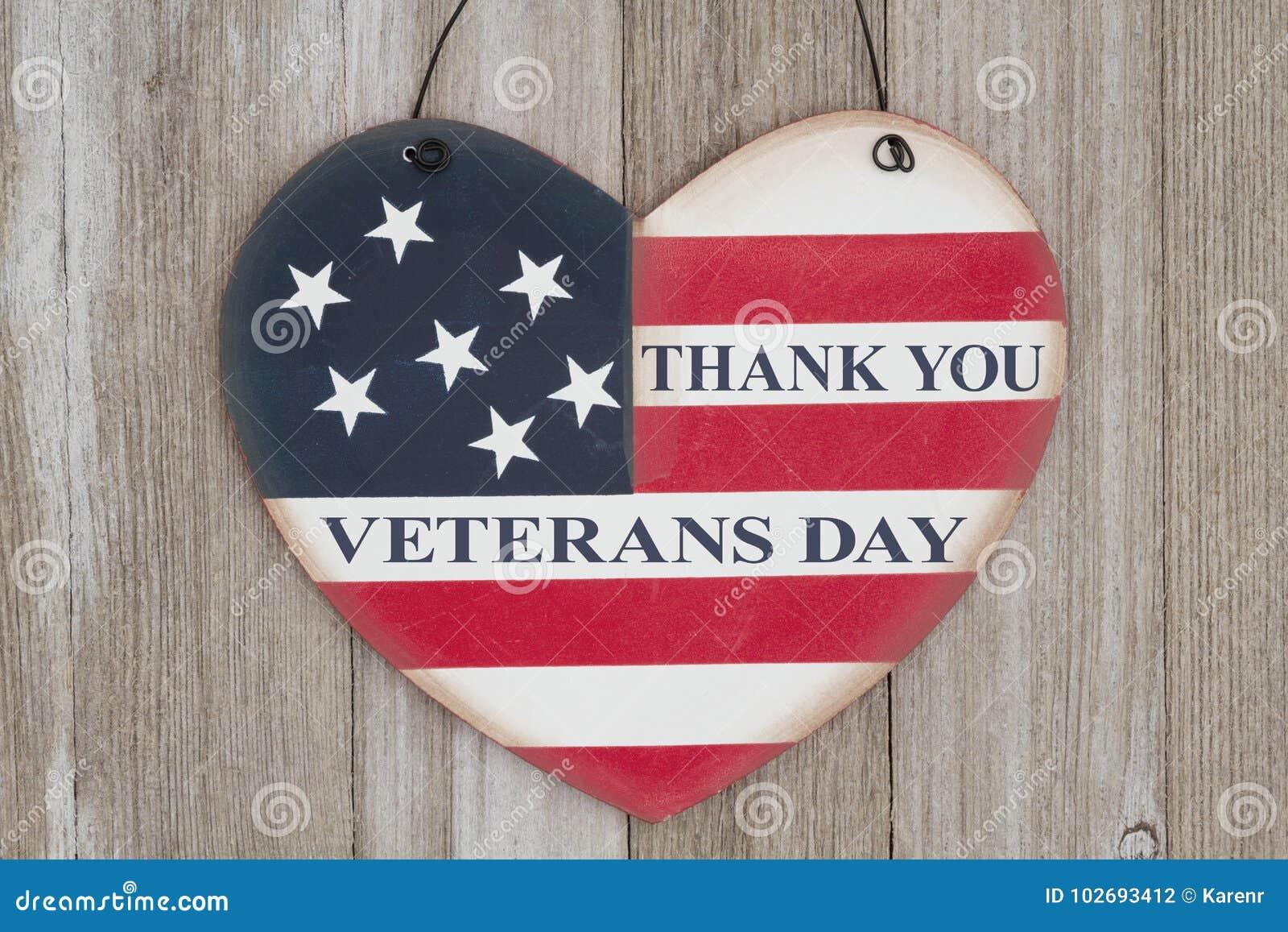 Het bericht van de veteranendag