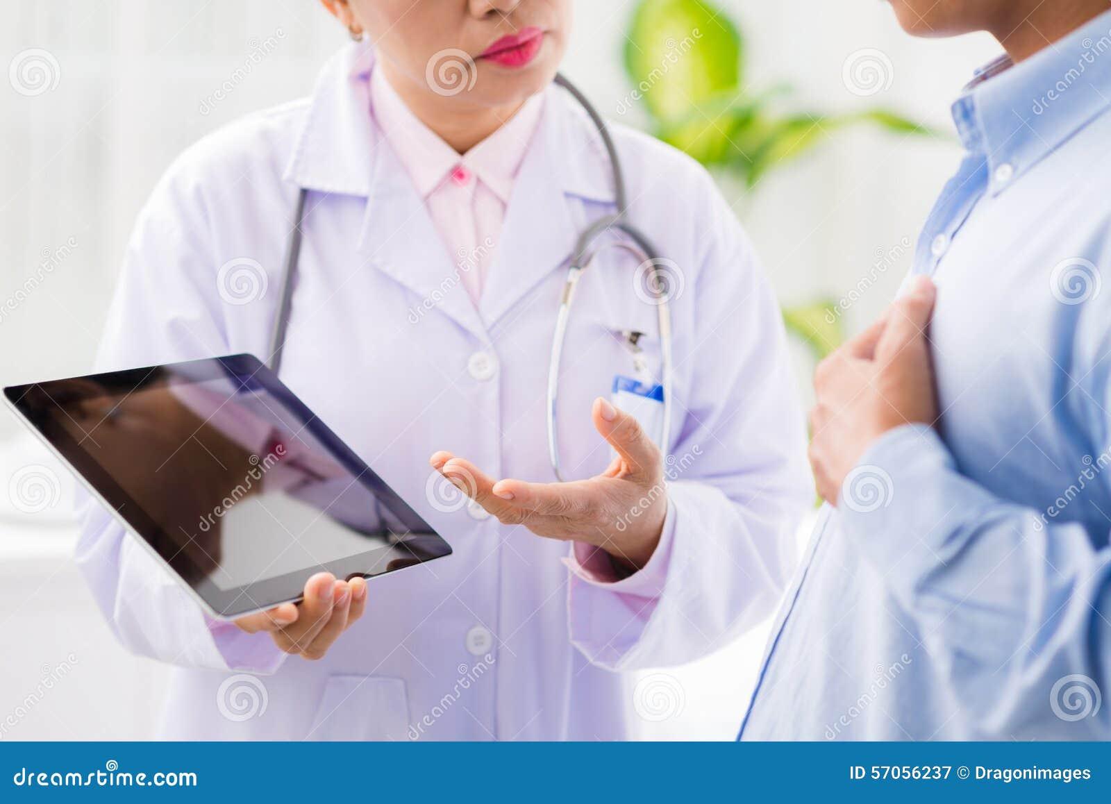 Het bespreken van medische dossiers
