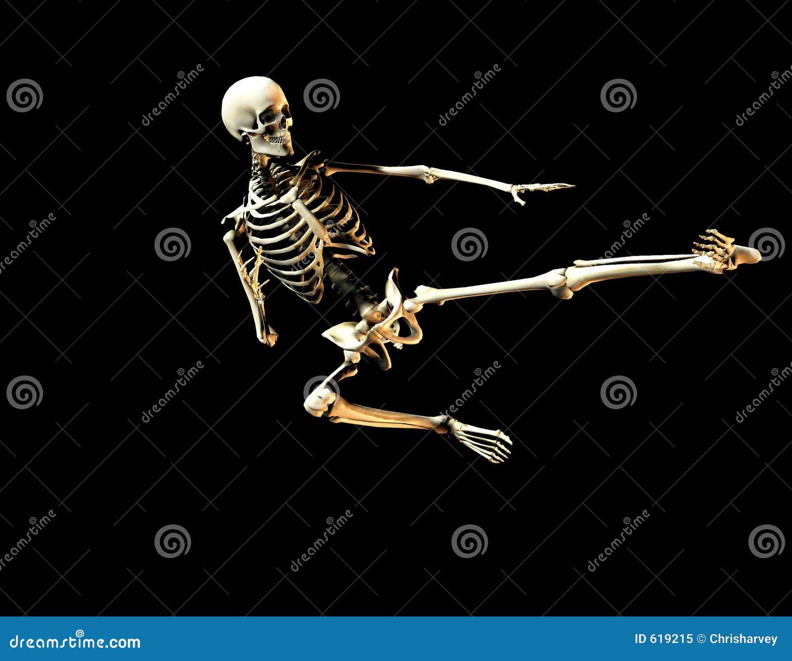 Het bestrijden van Skelet 2