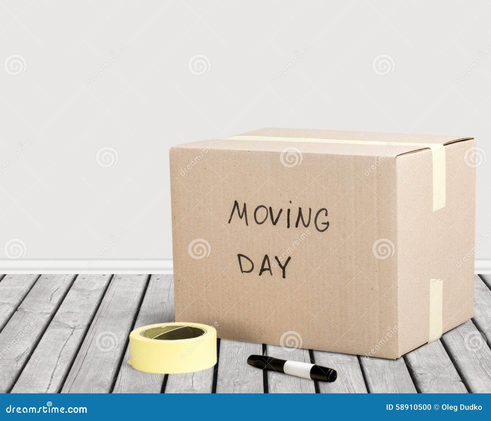 Het bewegen van huis
