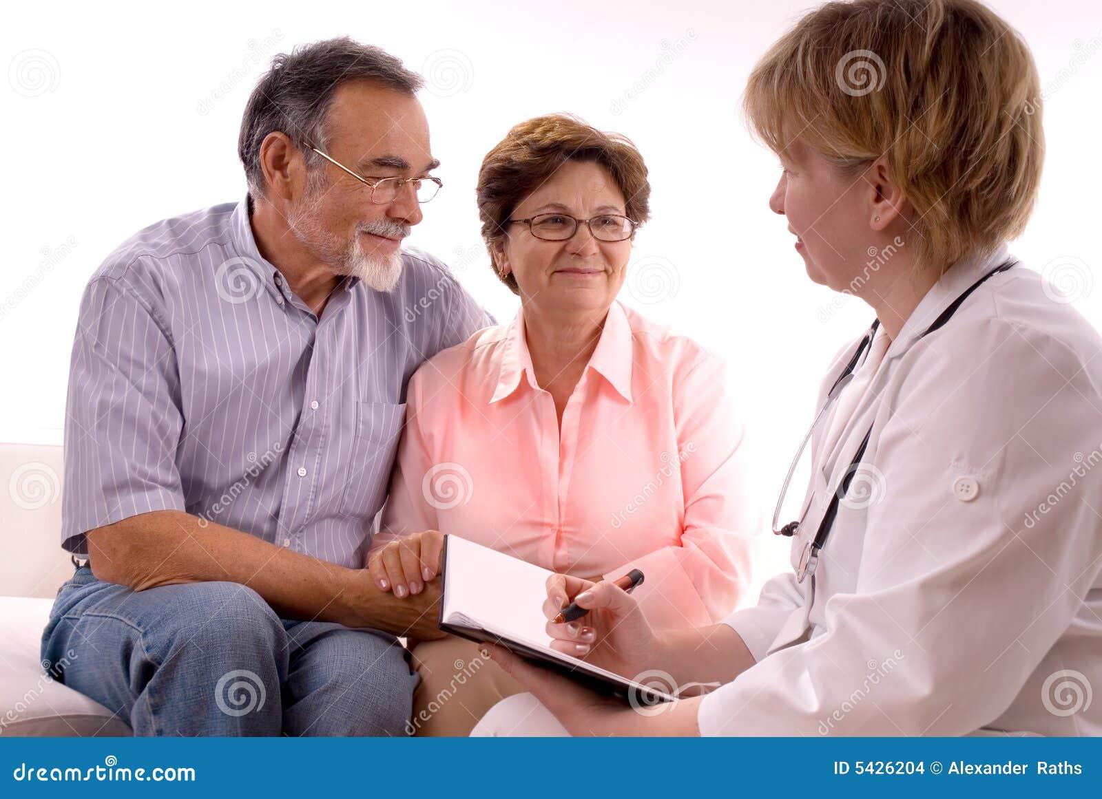 Het bezoeken van een arts