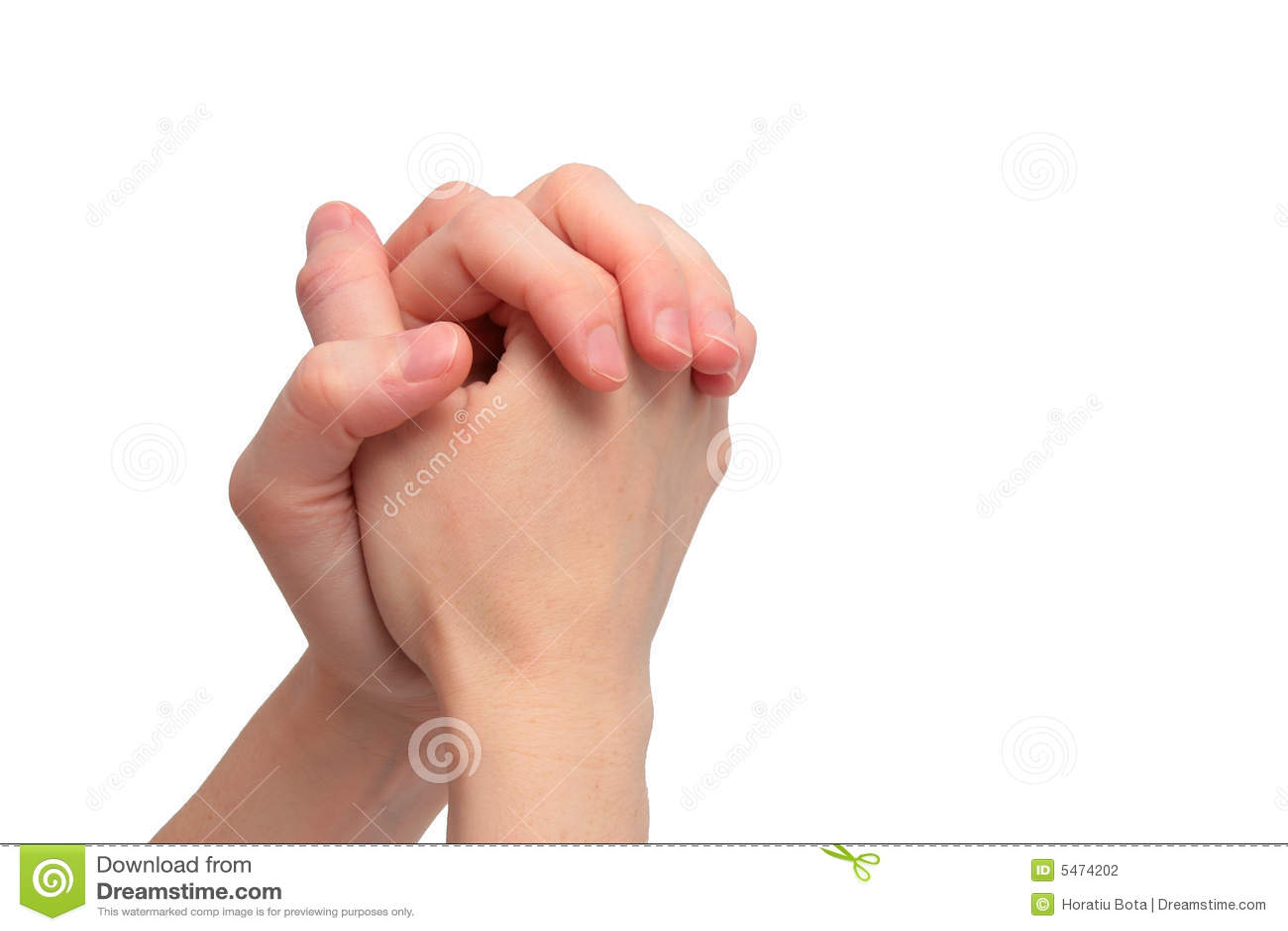 Het bidden handen