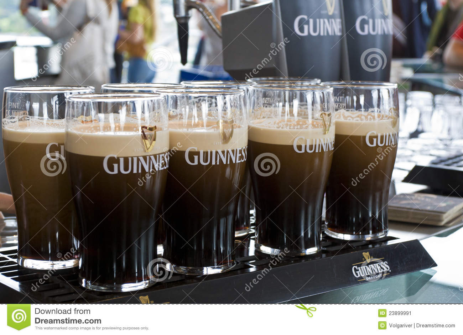 Het bier van Guiness