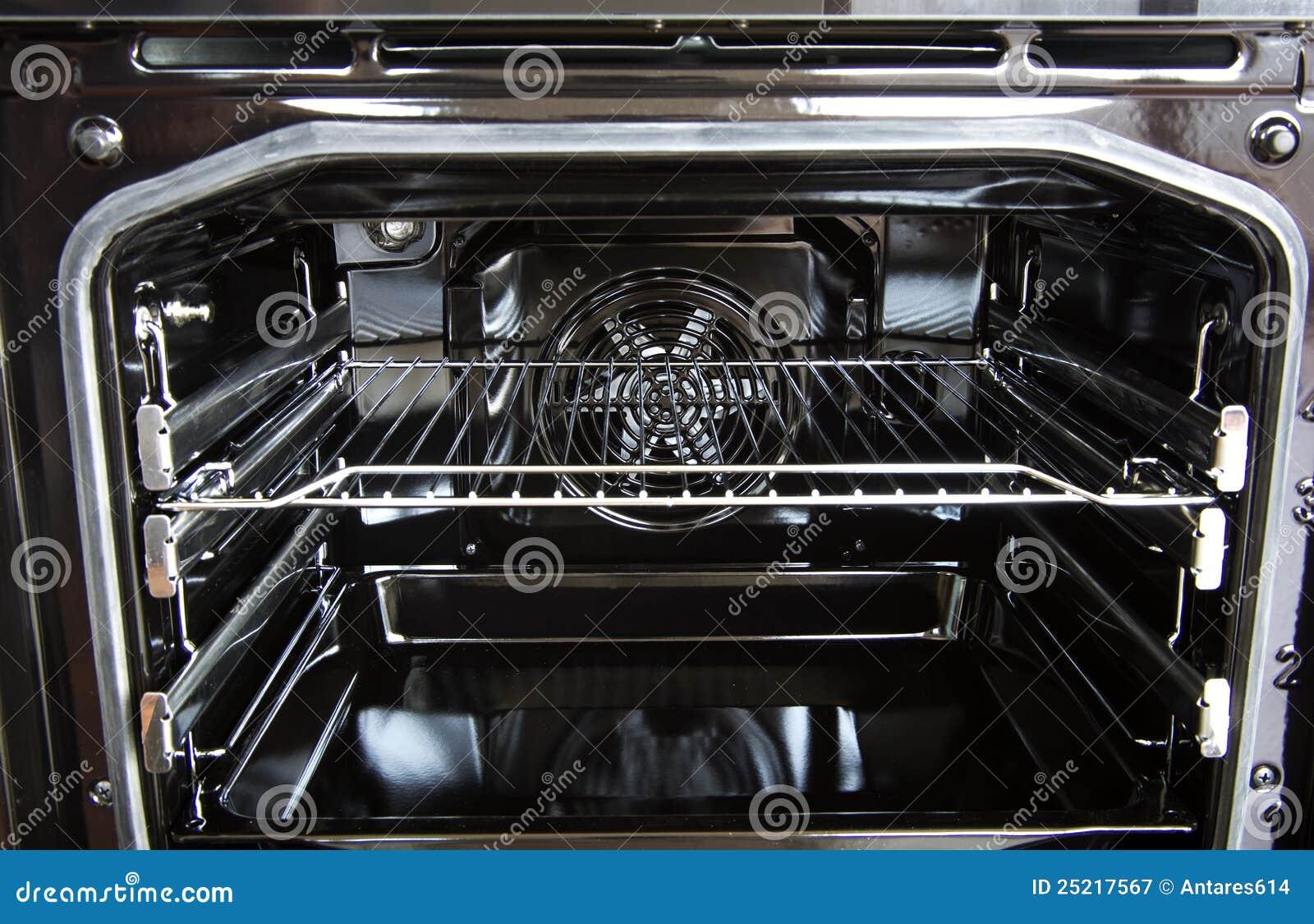 Het binnenland van de oven
