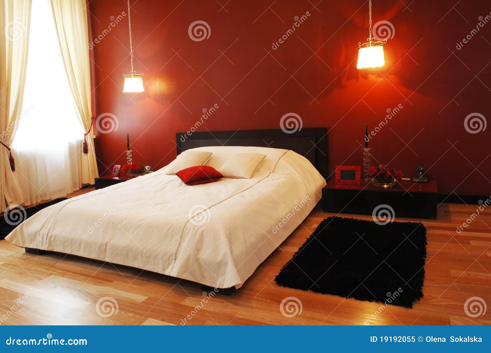 Het binnenland van de slaapkamer royalty vrije stock foto afbeelding 19192055 - Foto van volwassen slaapkamer ...