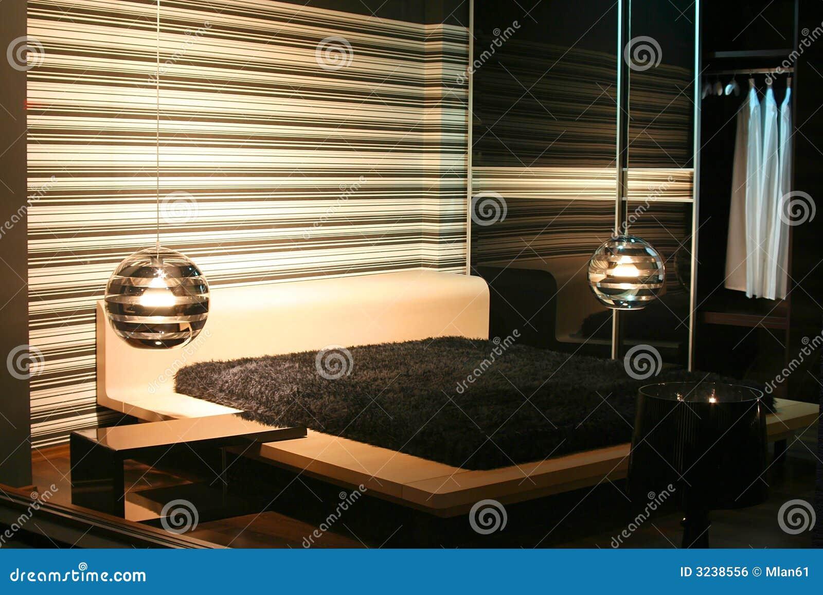 Het binnenland van de slaapkamer