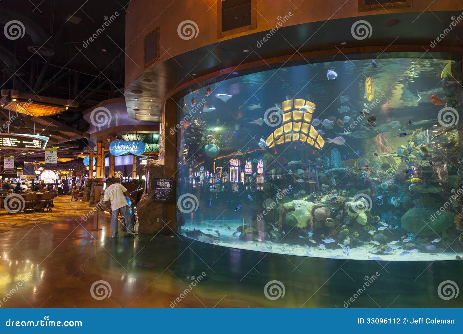 Het binnenland van het Silvertonhotel in Las Vegas, NV op 20 Augustus, 2013