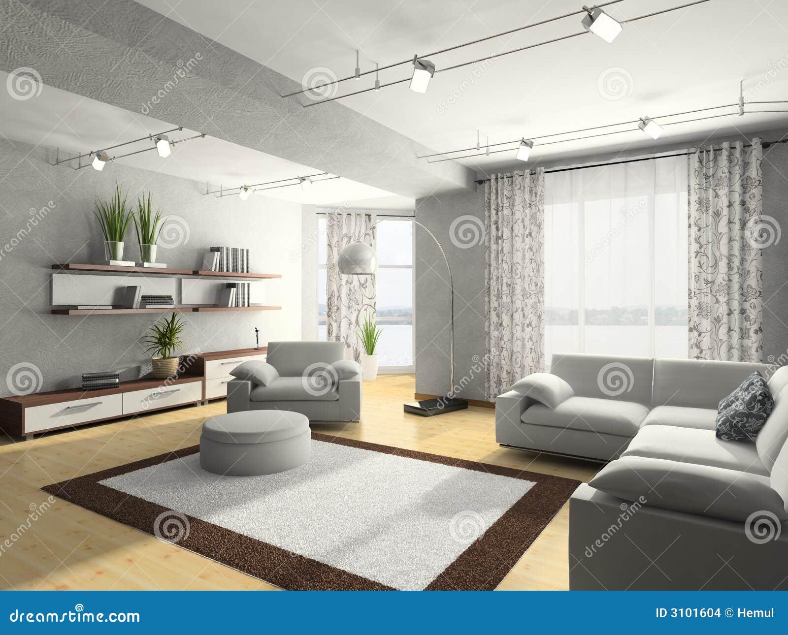 Het binnenlandse 3D teruggeven van het huis