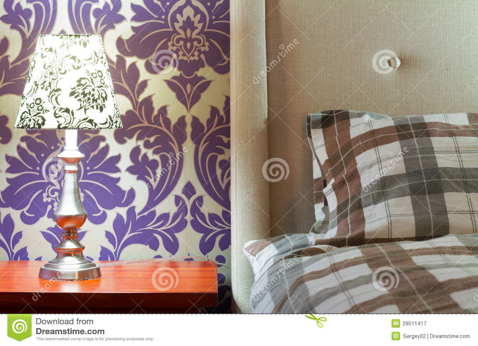 Het Binnenlandse Ontwerp van de slaapkamer