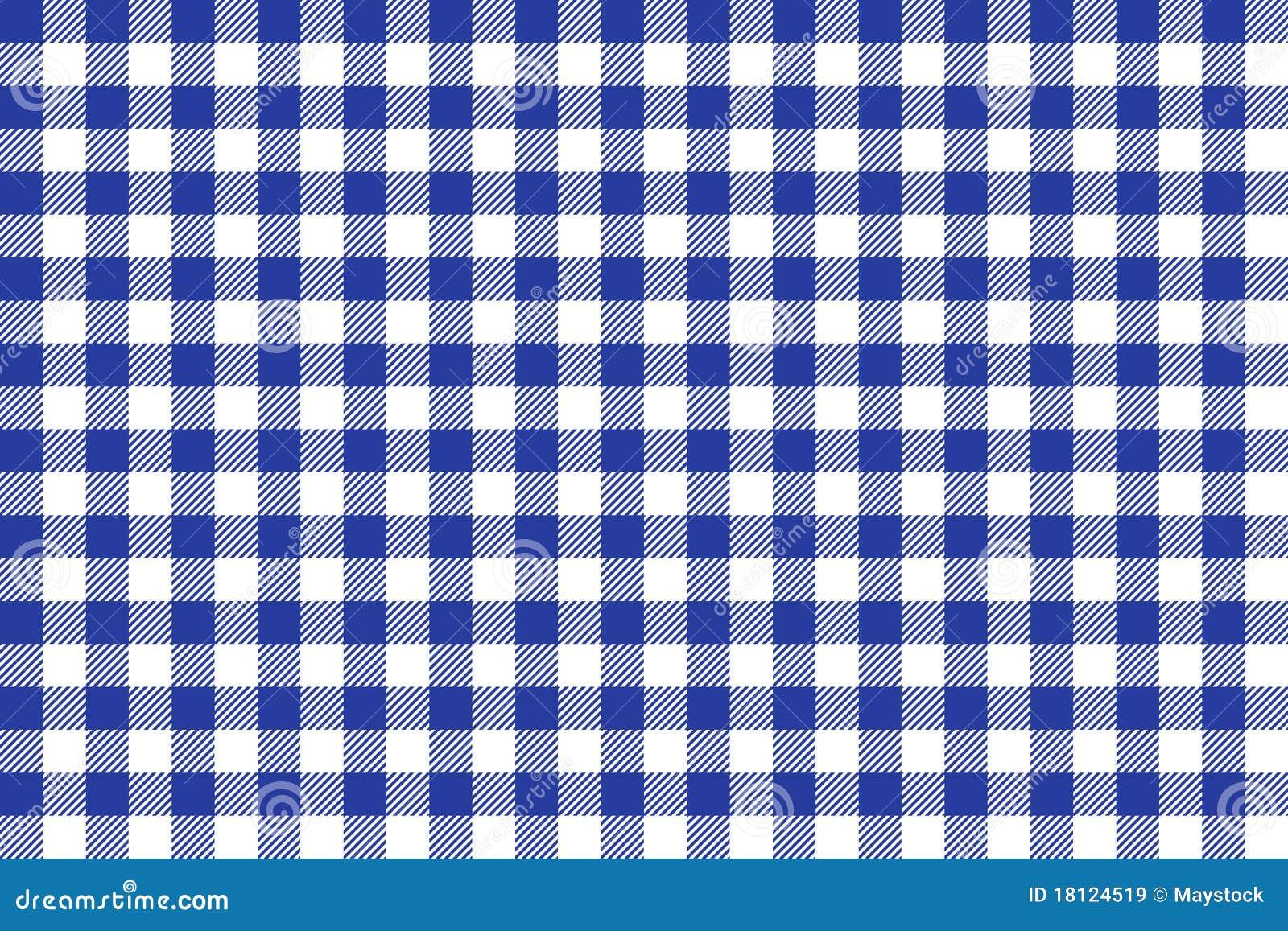 Het blauwe en witte behang van de tafelkleed vierkante textuur royalty vrije stock afbeeldingen - Behang van de jaren ...