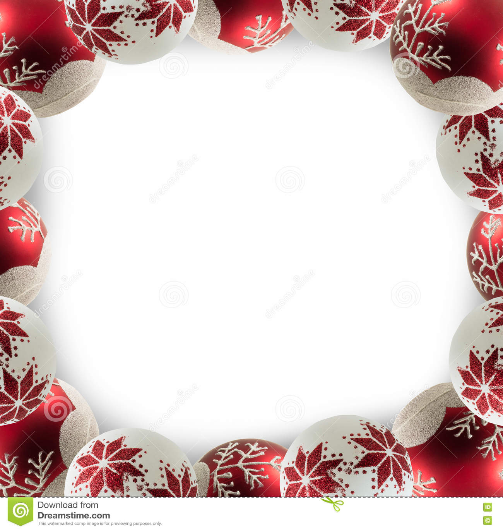 Het blauwe magische frame van Kerstmis