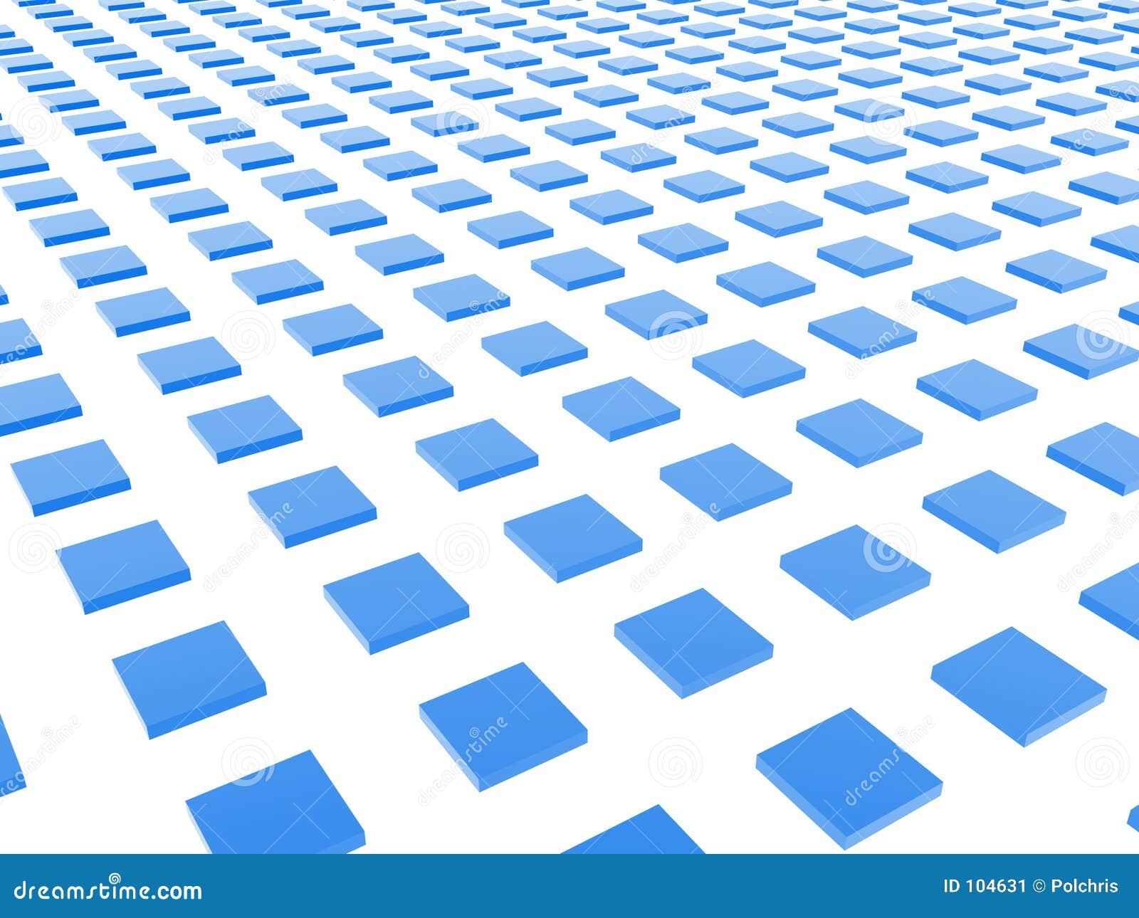 Het blauwe Net van de Doos