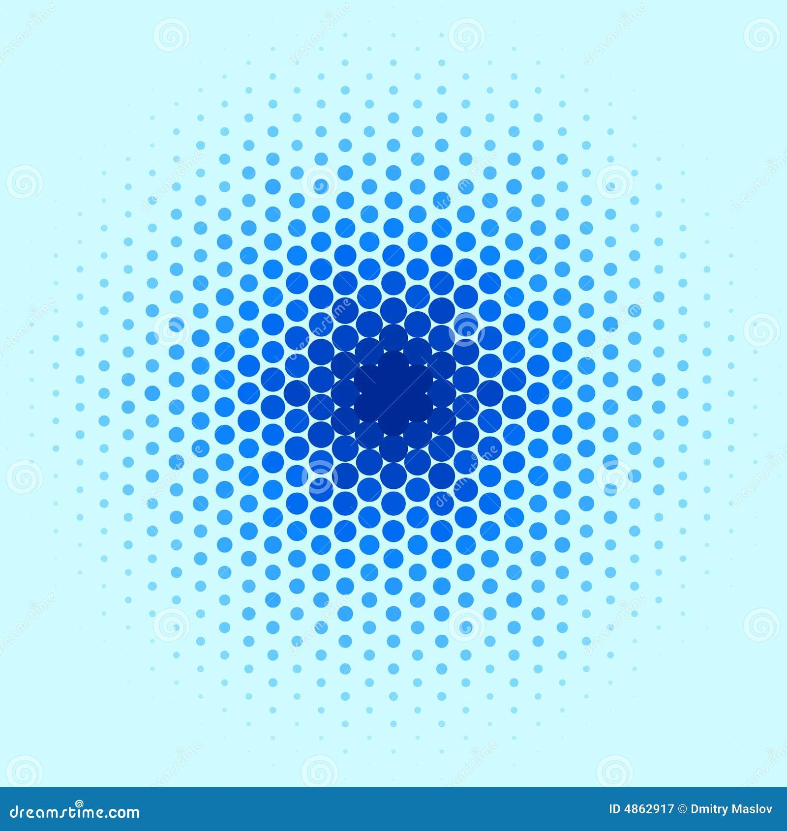 Het blauwe Patroon van de Vlek