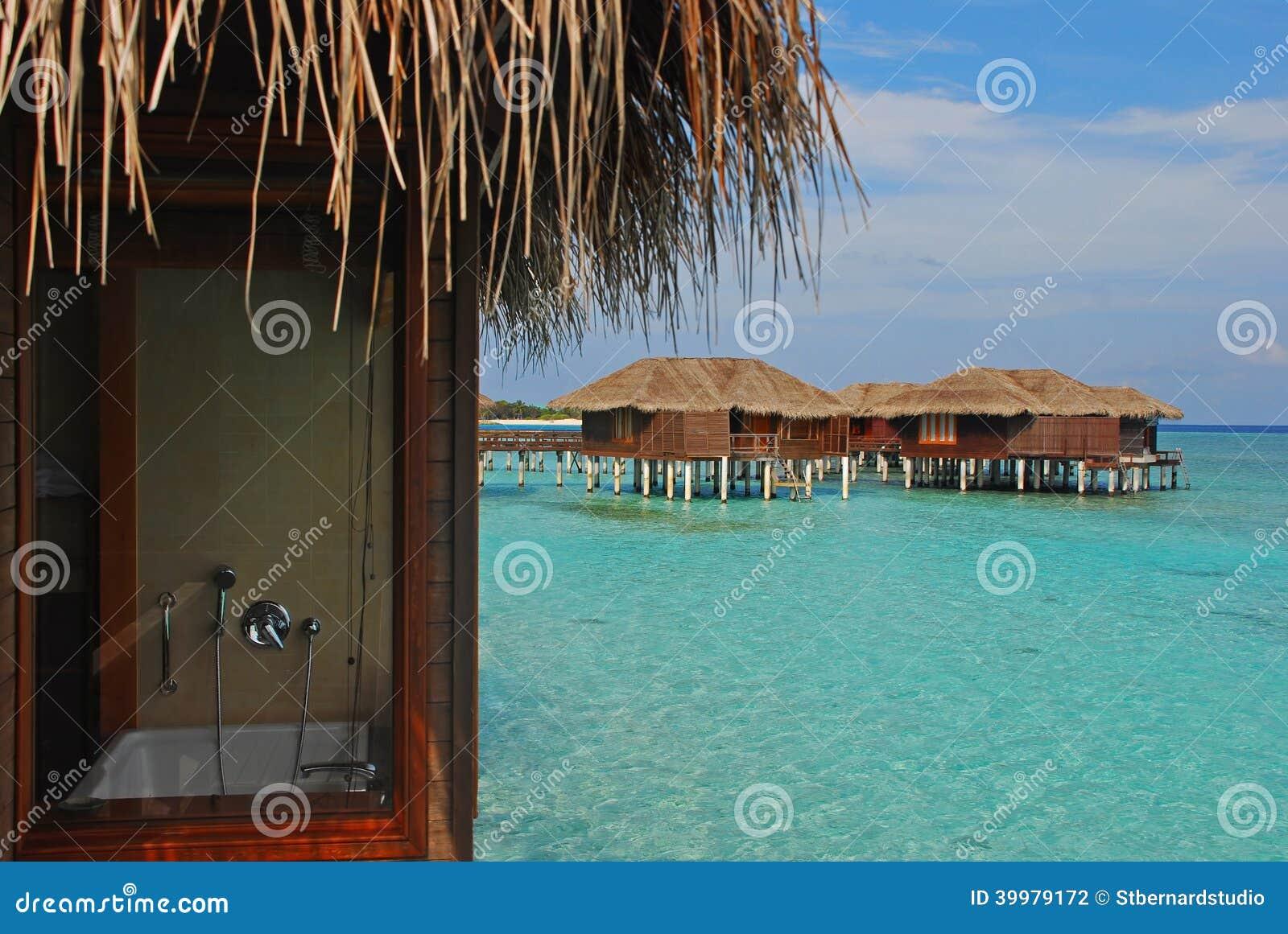 Het blijven in Overwater-Bungalow tijdens Vakantie