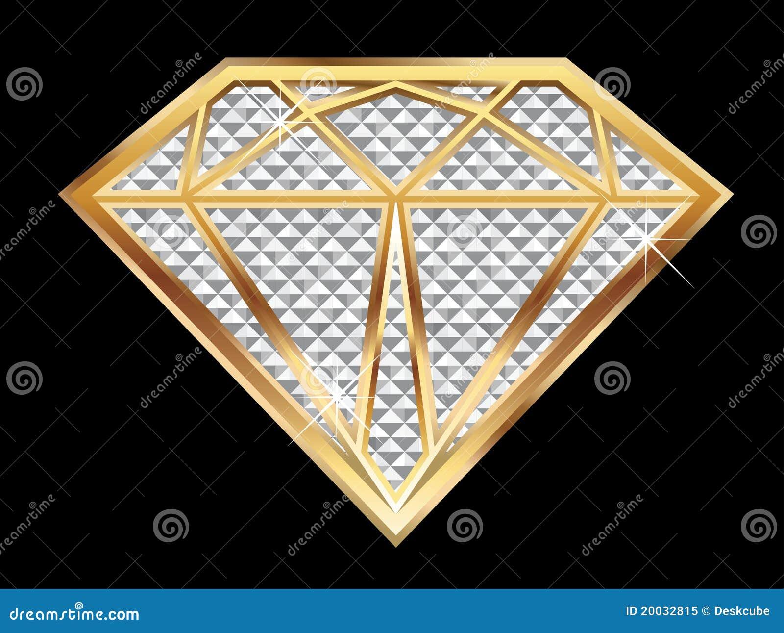 Het bling van de diamant