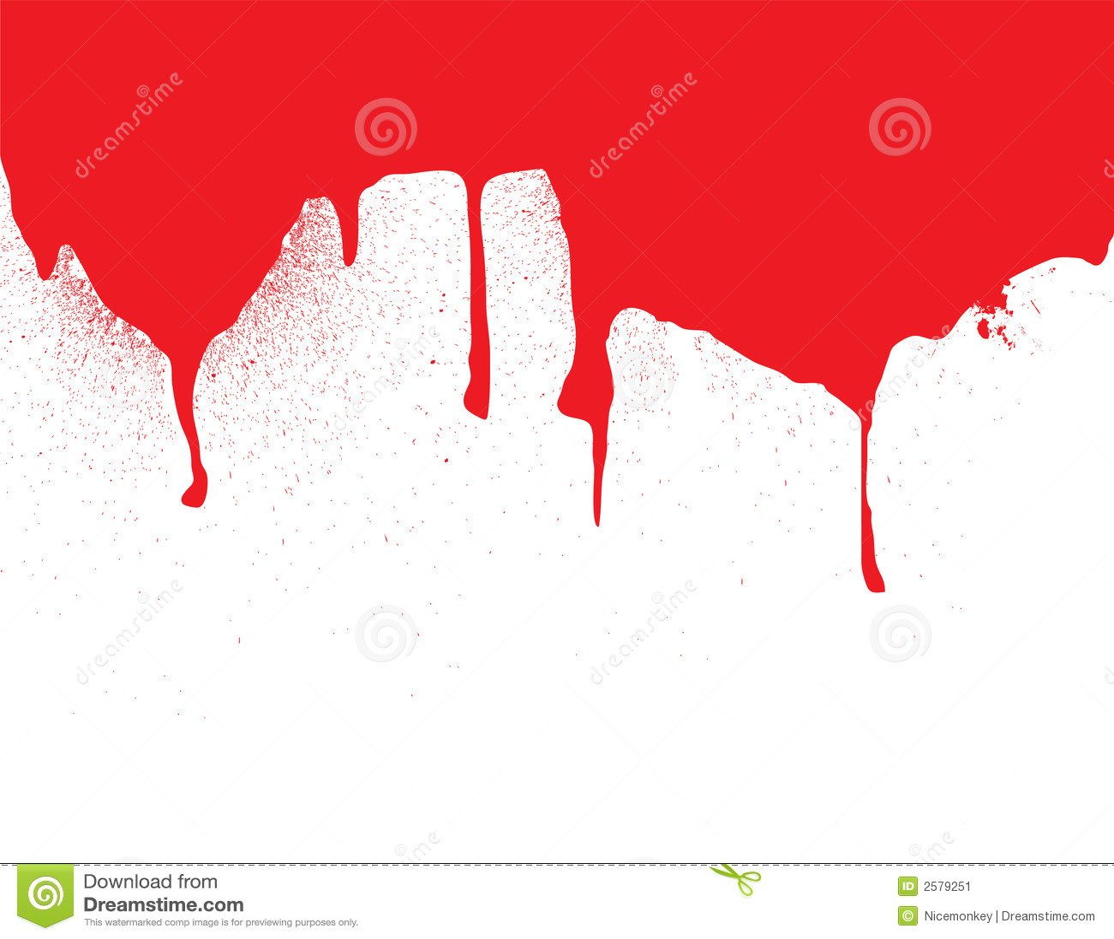 Het bloeddribble van de kopbal
