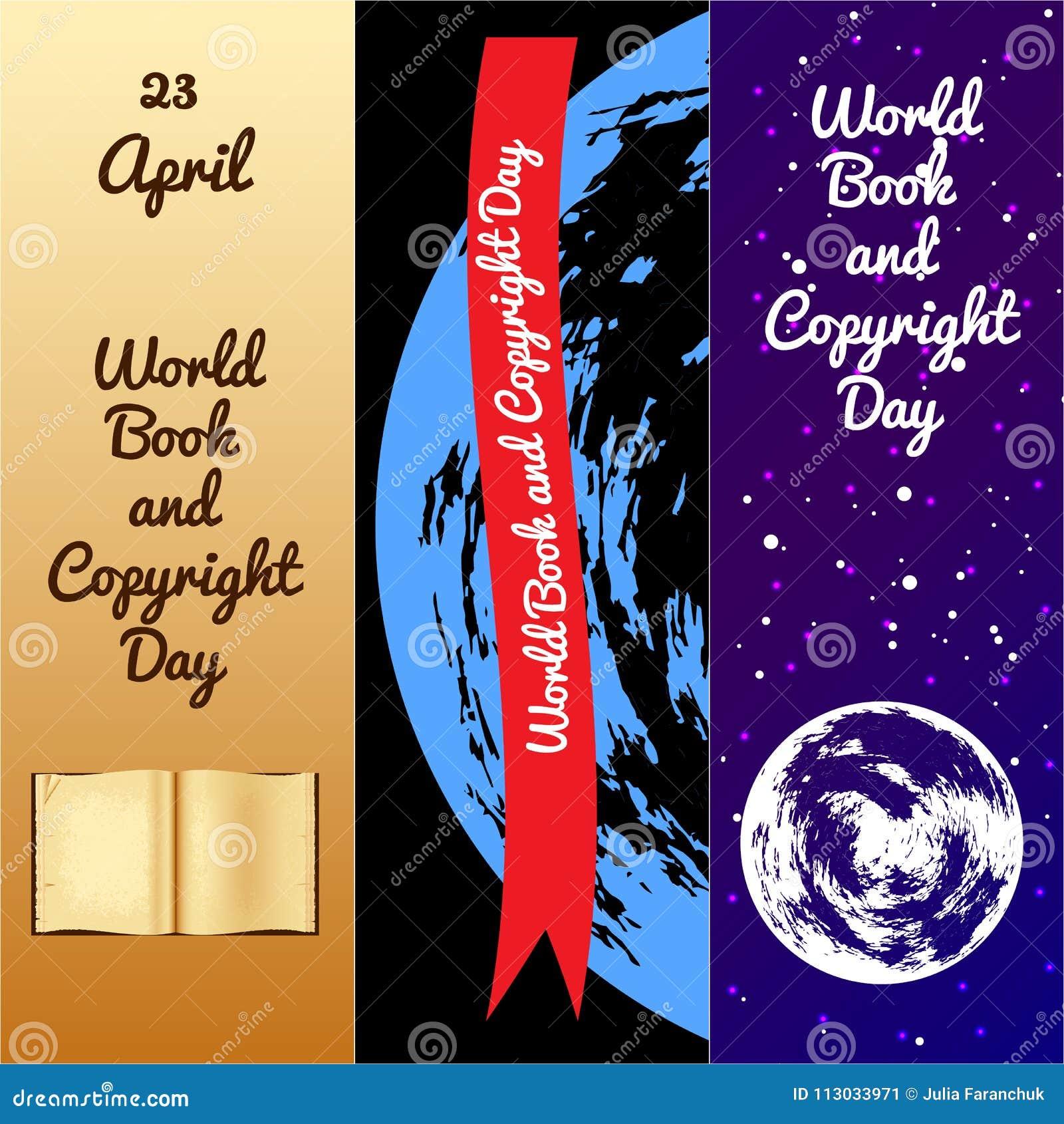 Het boek van de wereld en auteursrechtdag referentie
