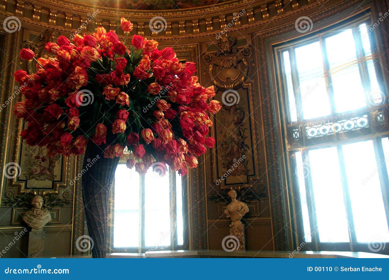 Het boeket van tulpen
