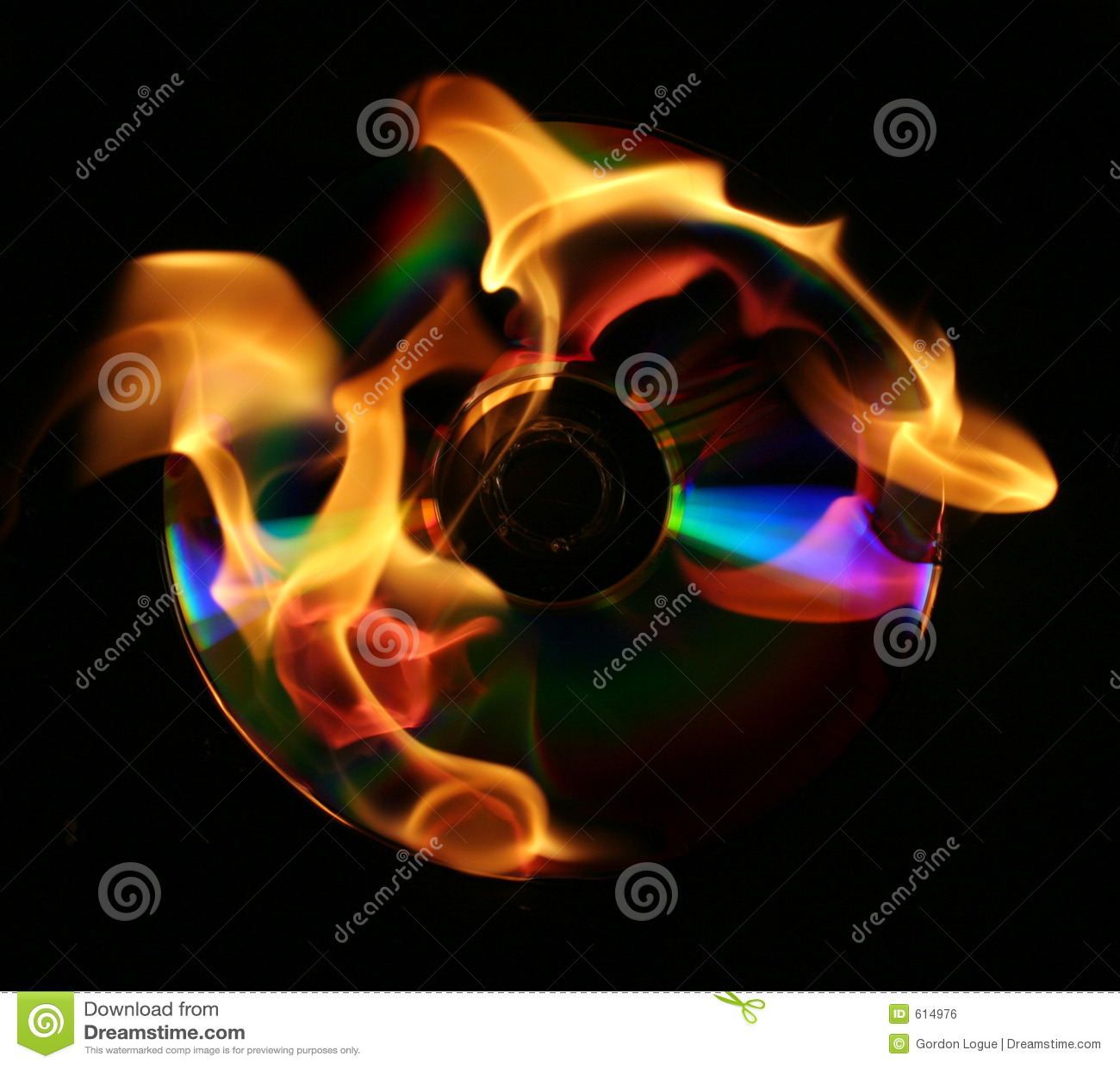 Het branden van een DVD of CD