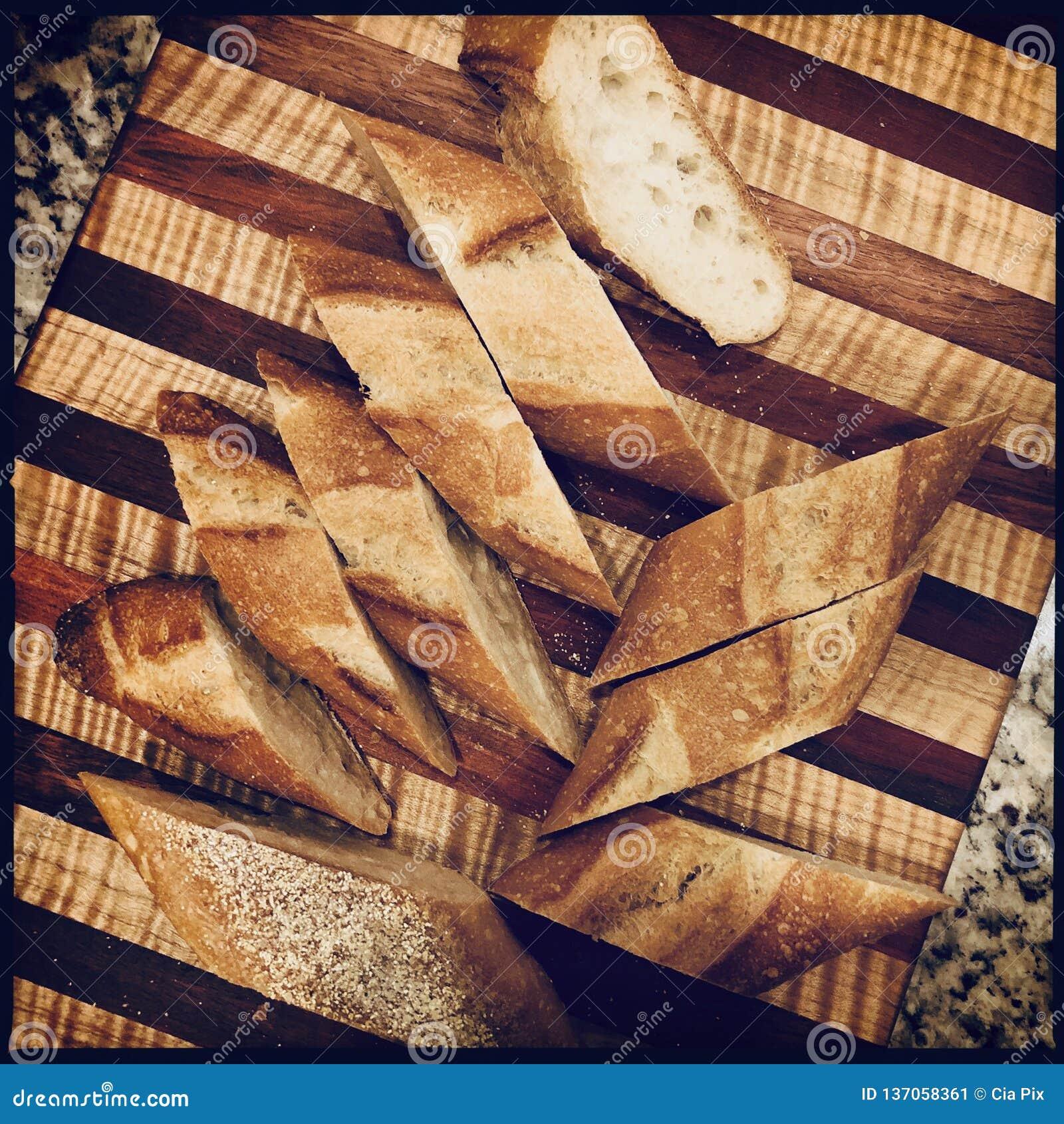 Het brood van de besnoeiing