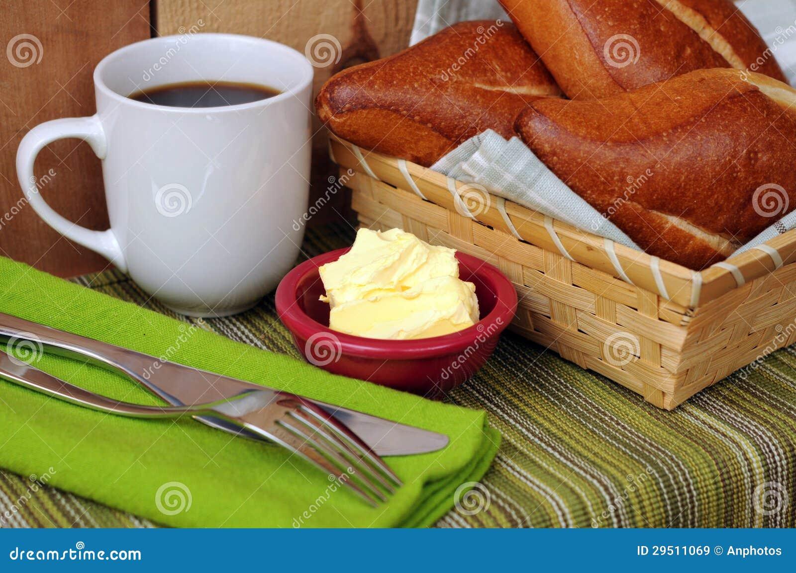 Het brood van het brood voor ontbijt
