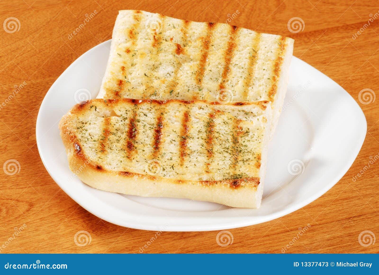 Het brood van het knoflook met kruiden