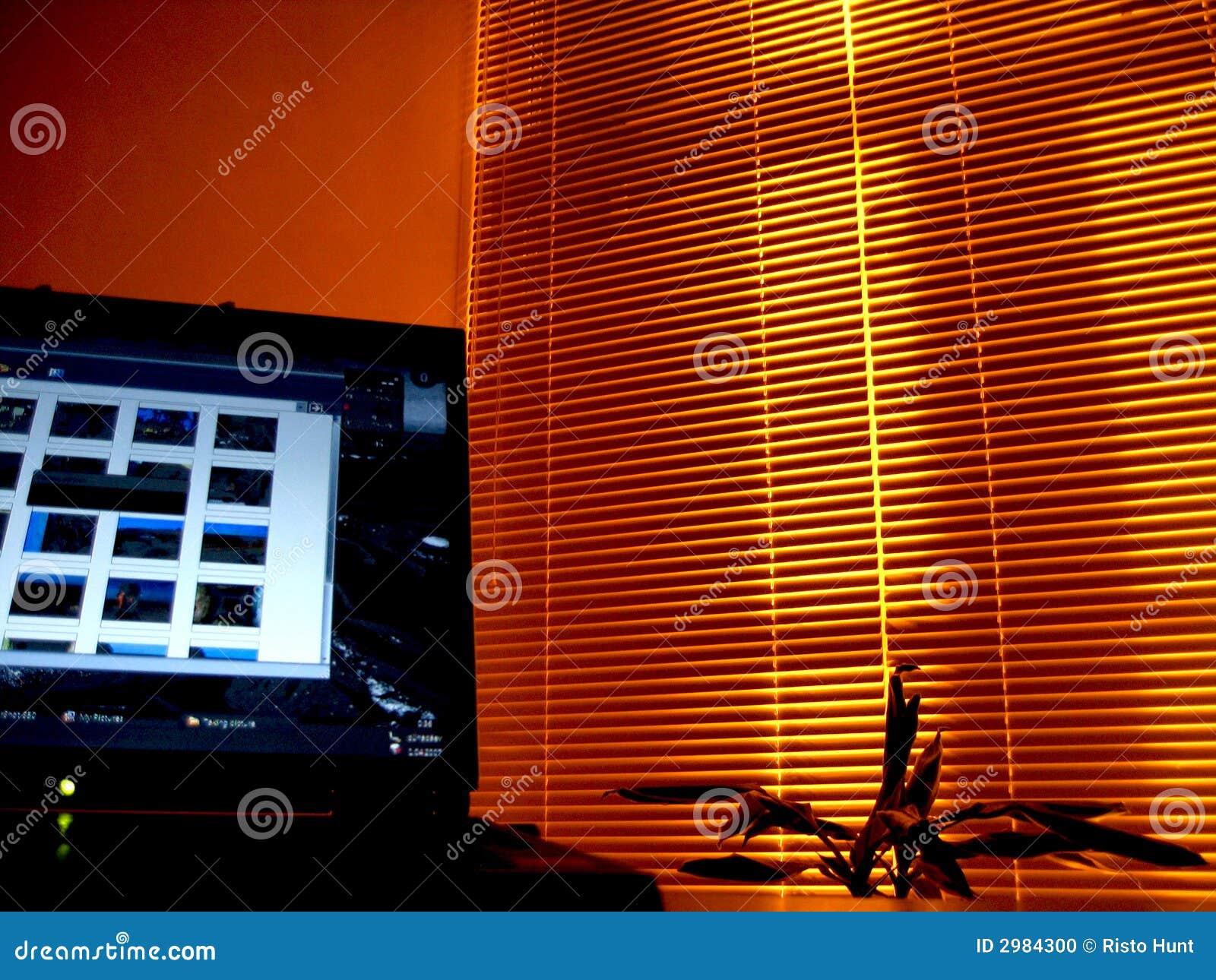 Het bureau van de nacht