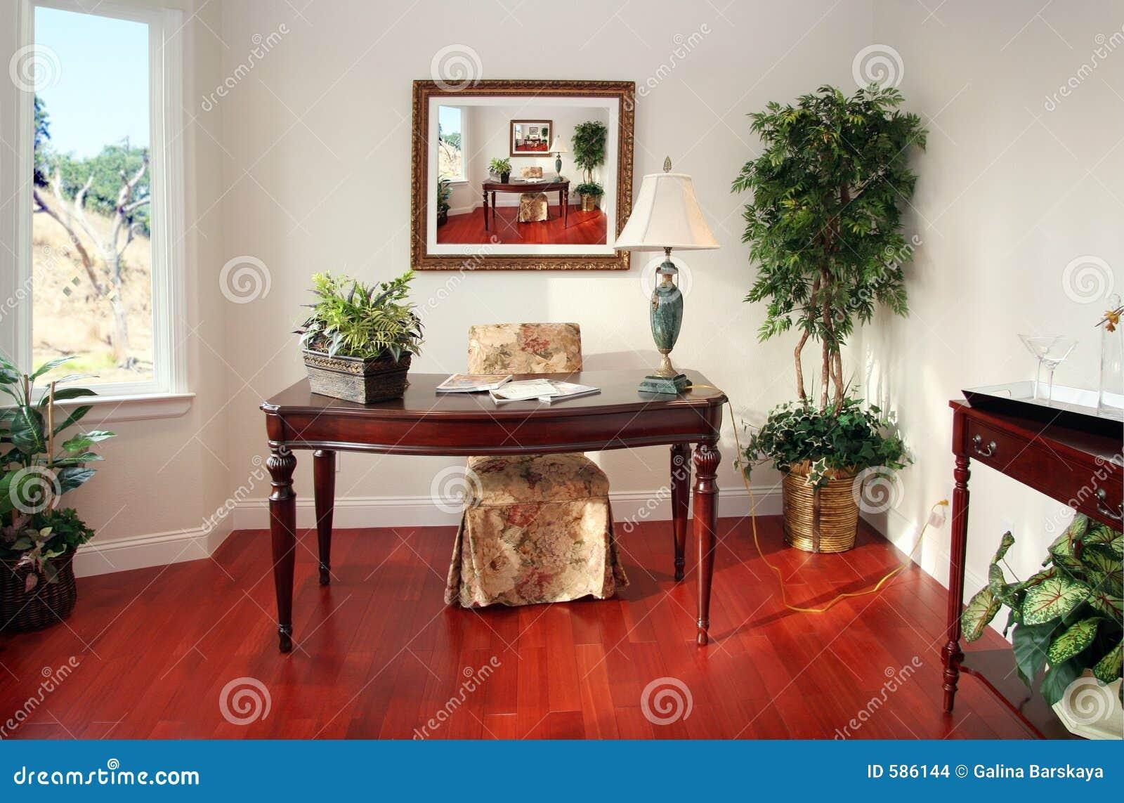 Het bureau van het huis