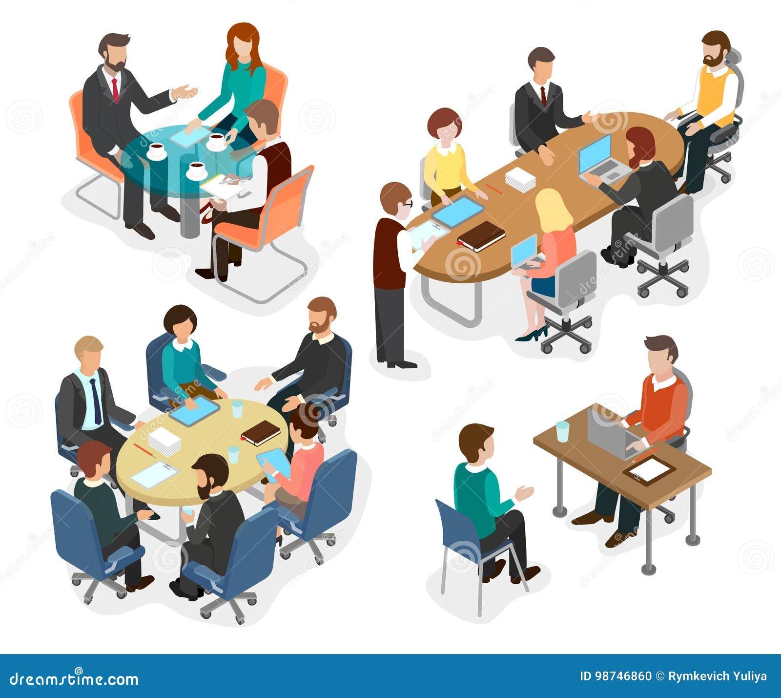 Het bureauteam besprak het werk vragen bij de lijst