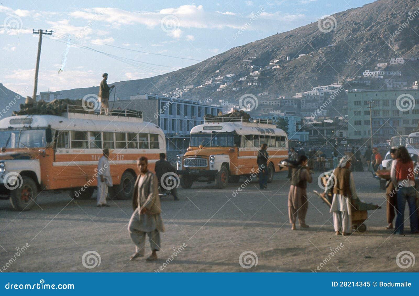 Het busstation van Kaboel
