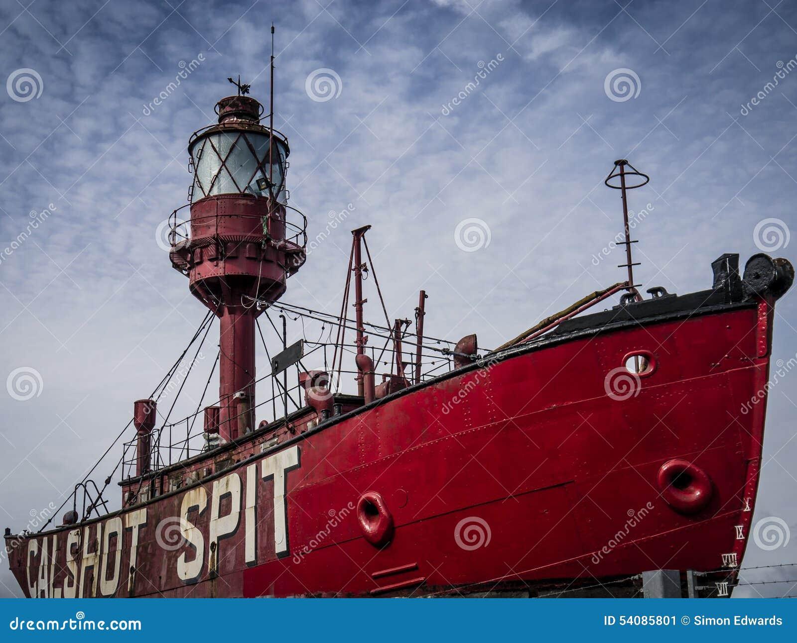 Het Calshot-Spitlichtschip