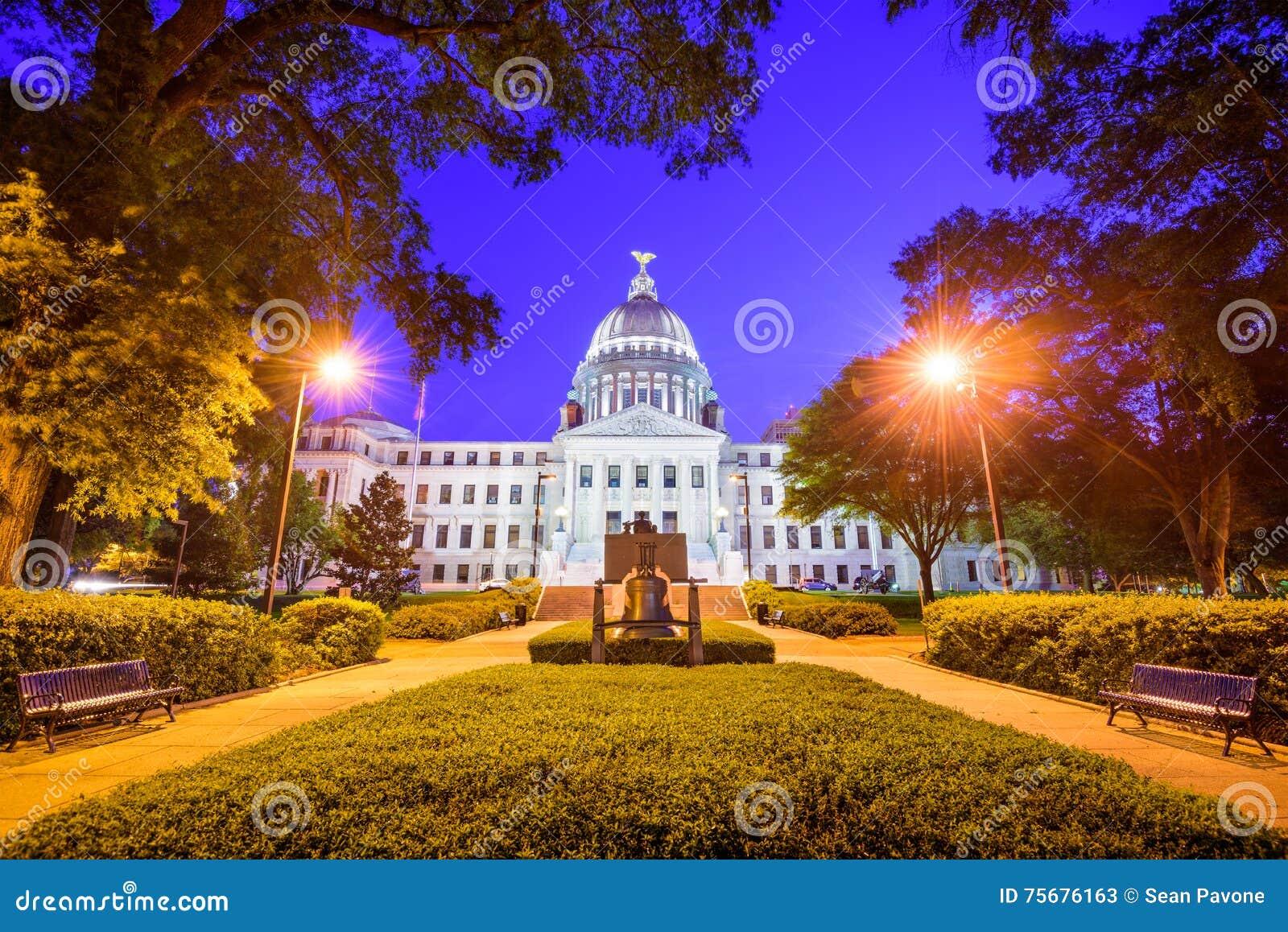 Het Capitool van de Staat van de Mississippi