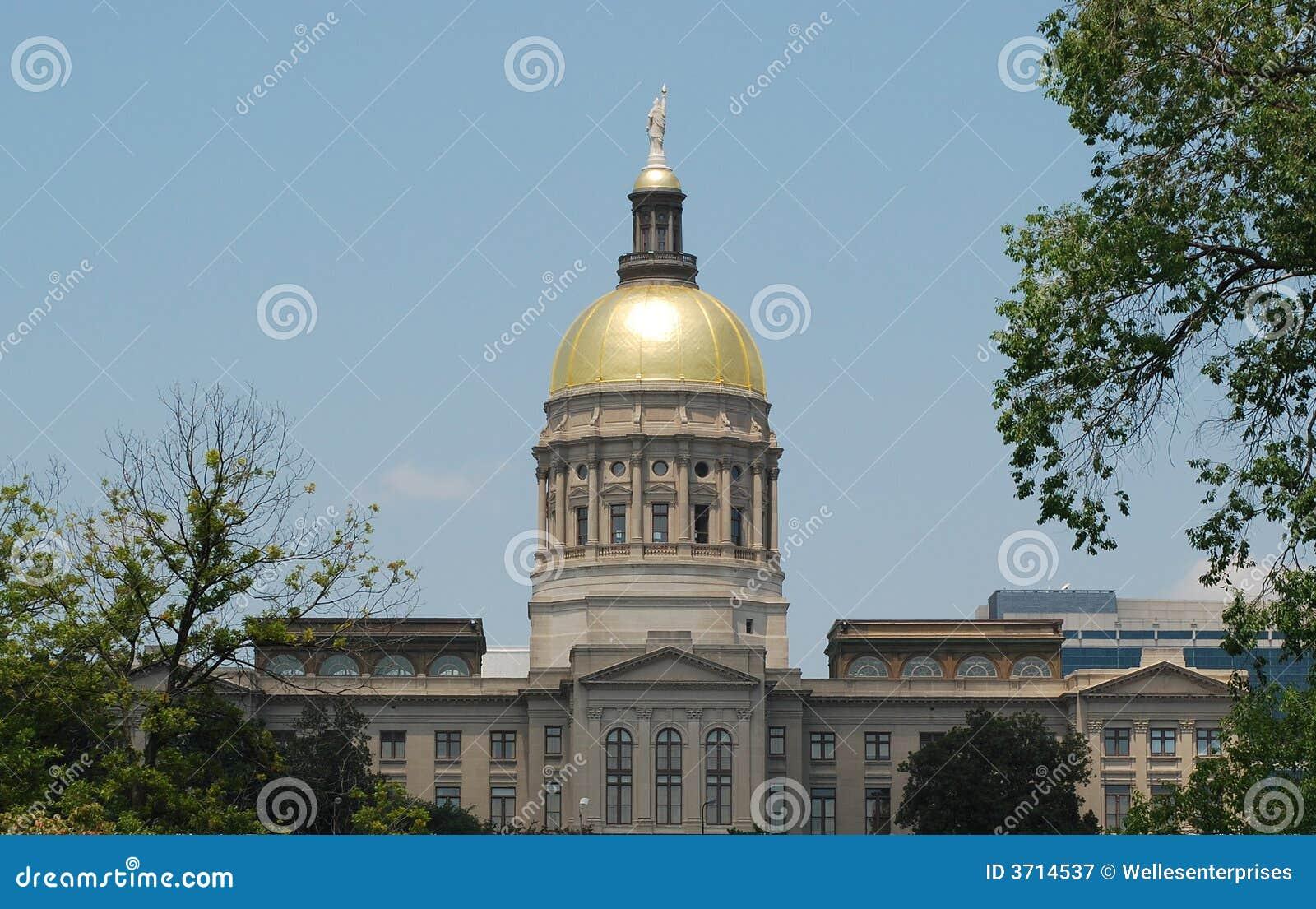 Het Capitool van de Staat van Georgië