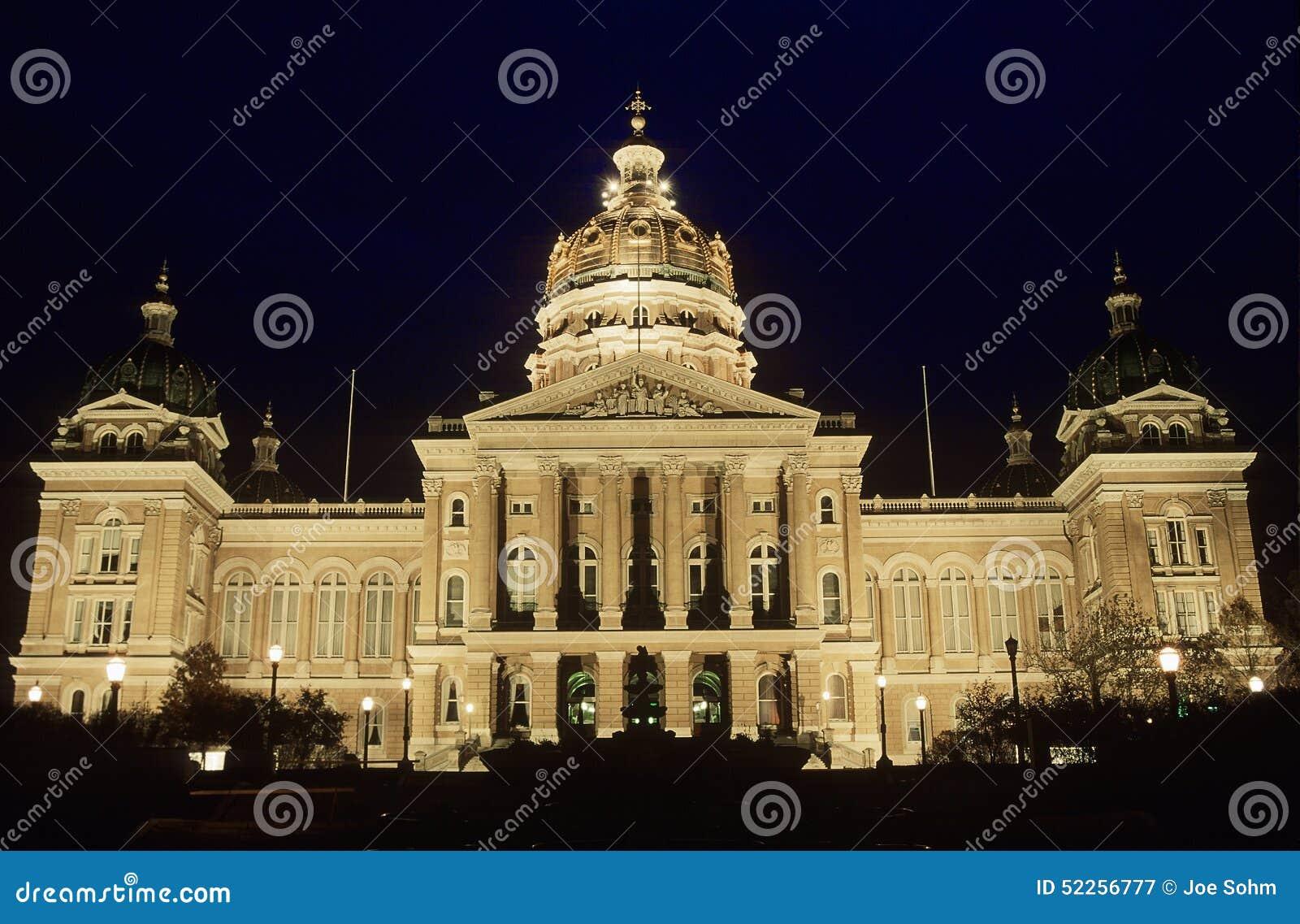 Het Capitool van de staat van Iowa, Des Moines