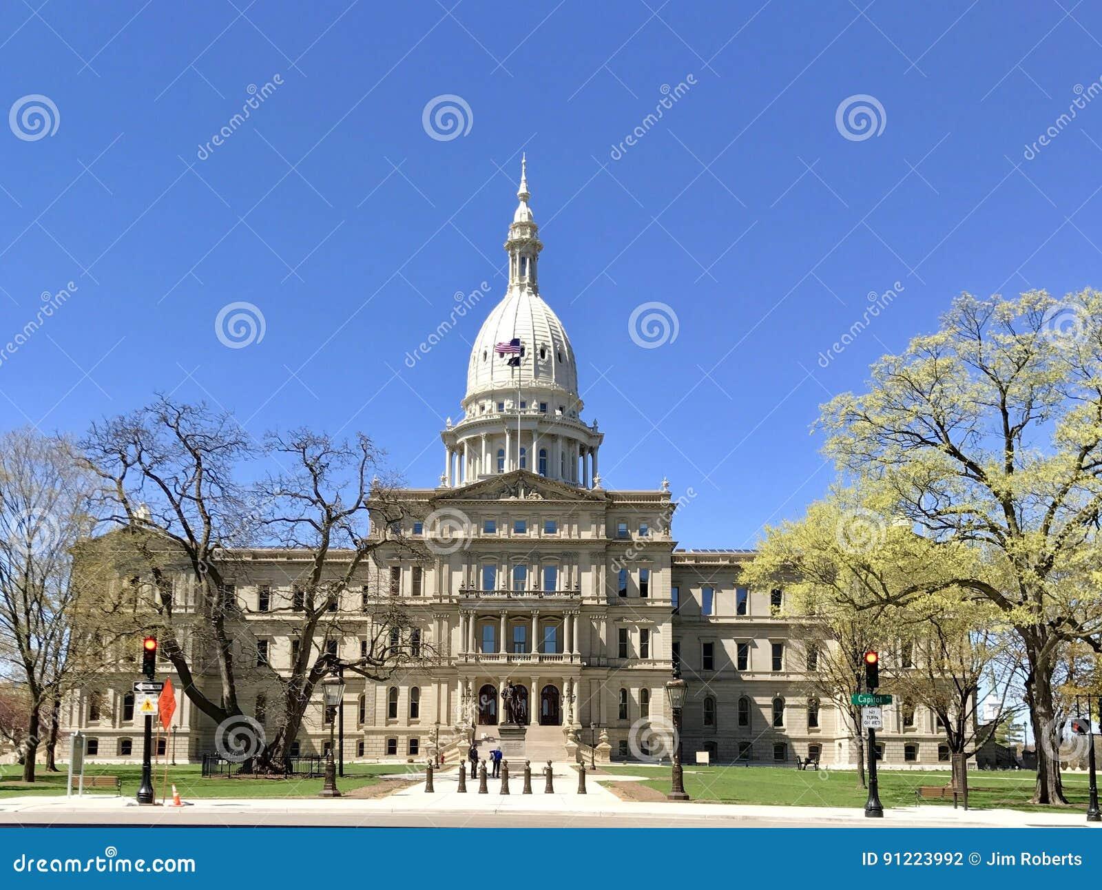Het Capitool van de Staat van Michigan
