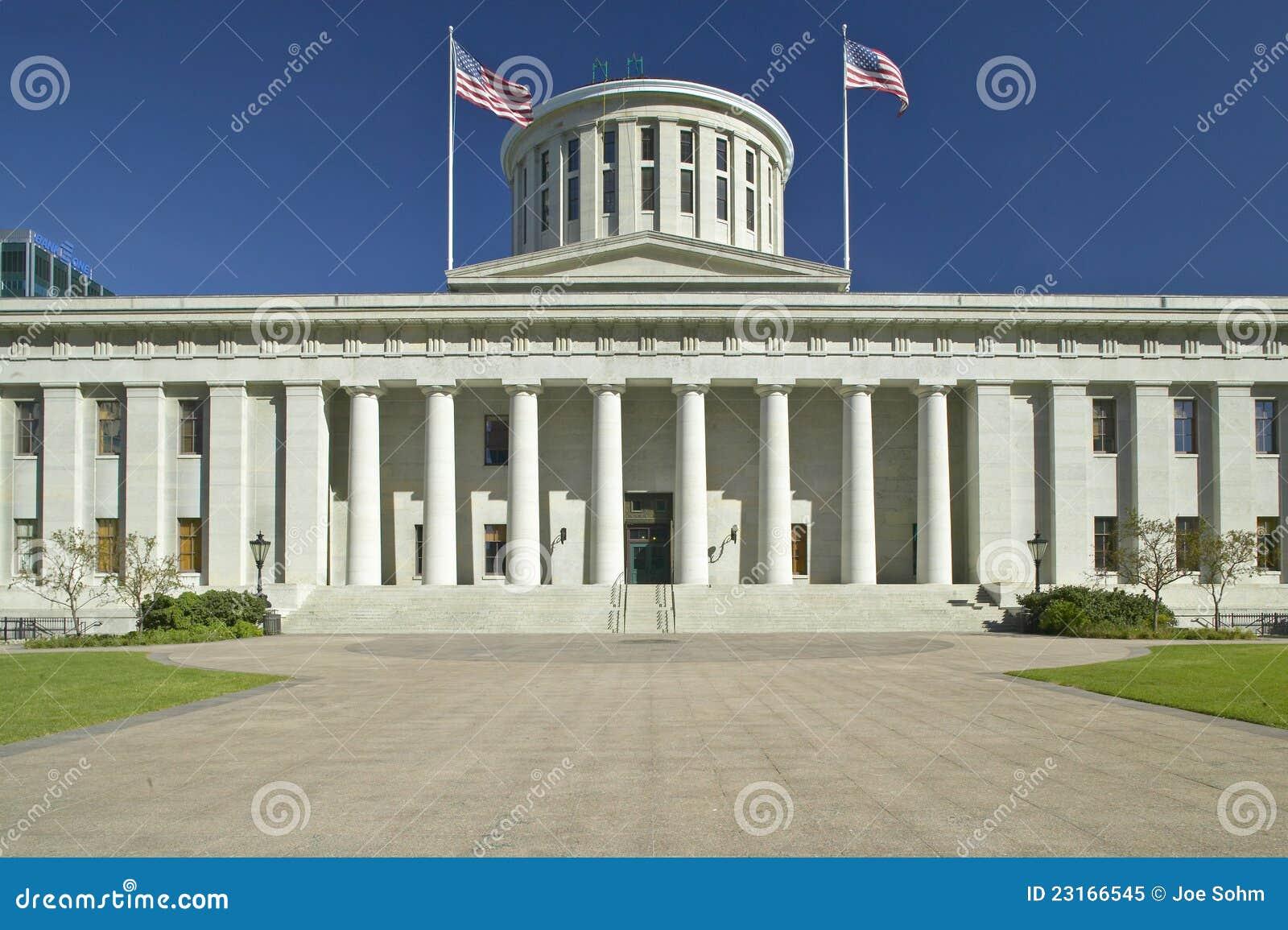 Het Capitool van de staat van Ohio,