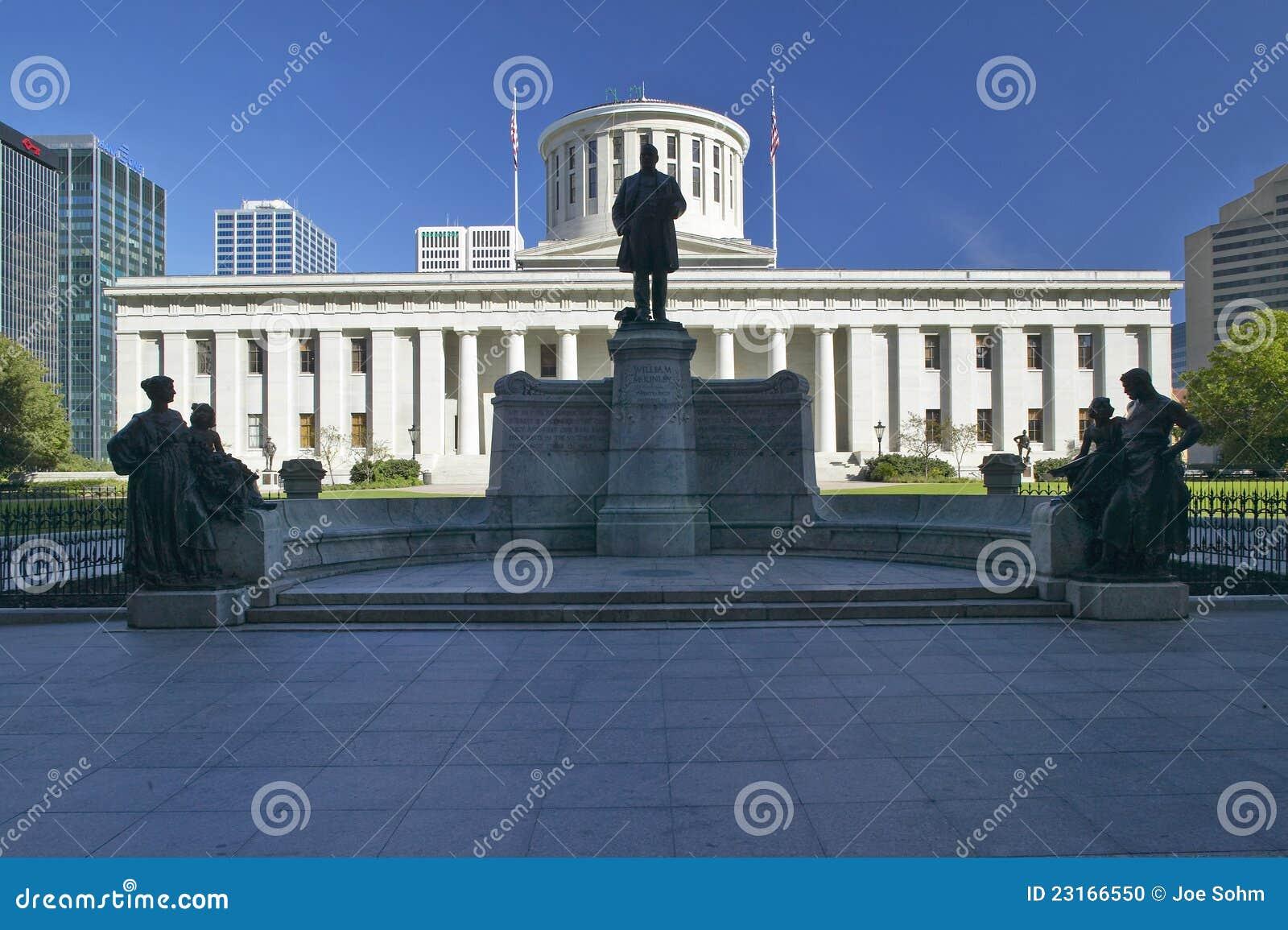 Het Capitool van de staat van Ohio