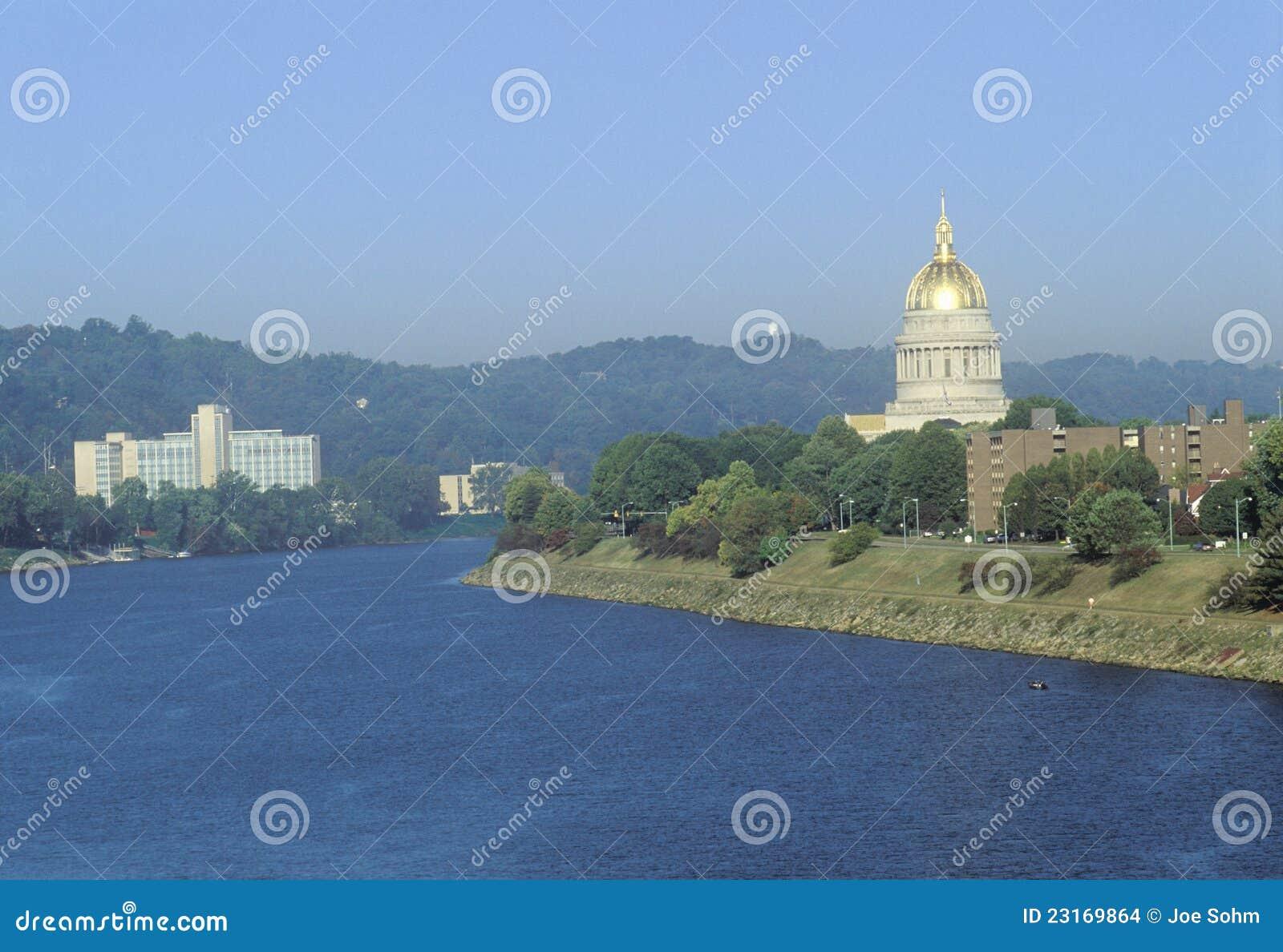 Het Capitool van de staat van West-Virginia