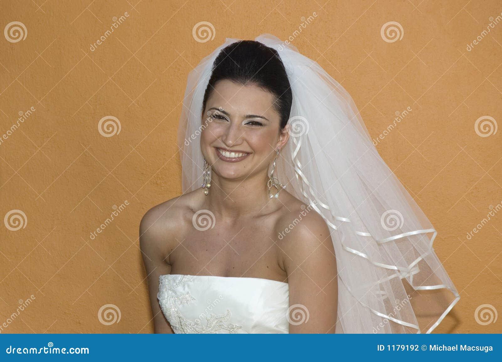 Het Caraïbische Huwelijk van het Strand - het Stellen van de Bruid