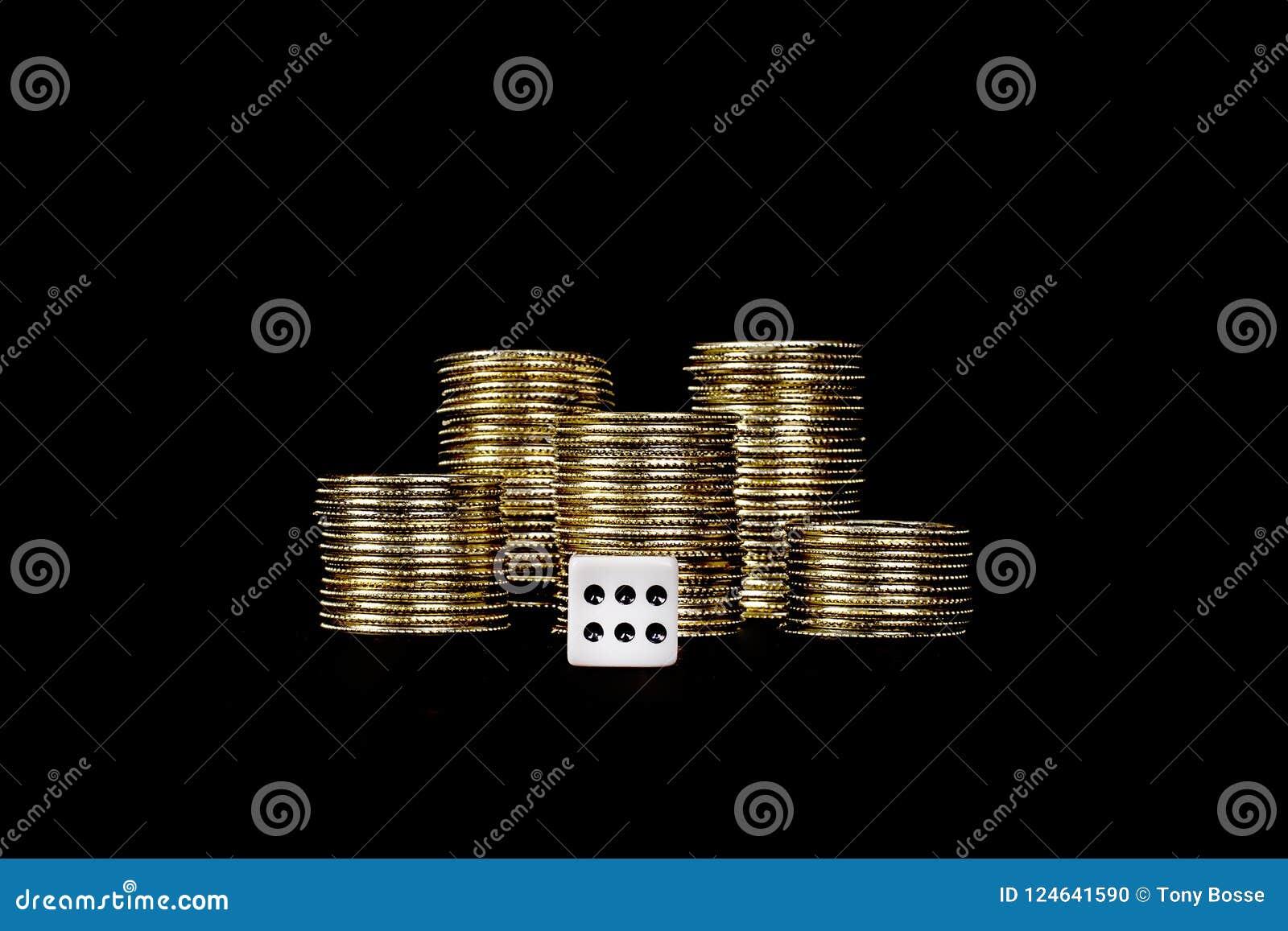 Het casino die, dobbelt met Gouden Spaanders gokken