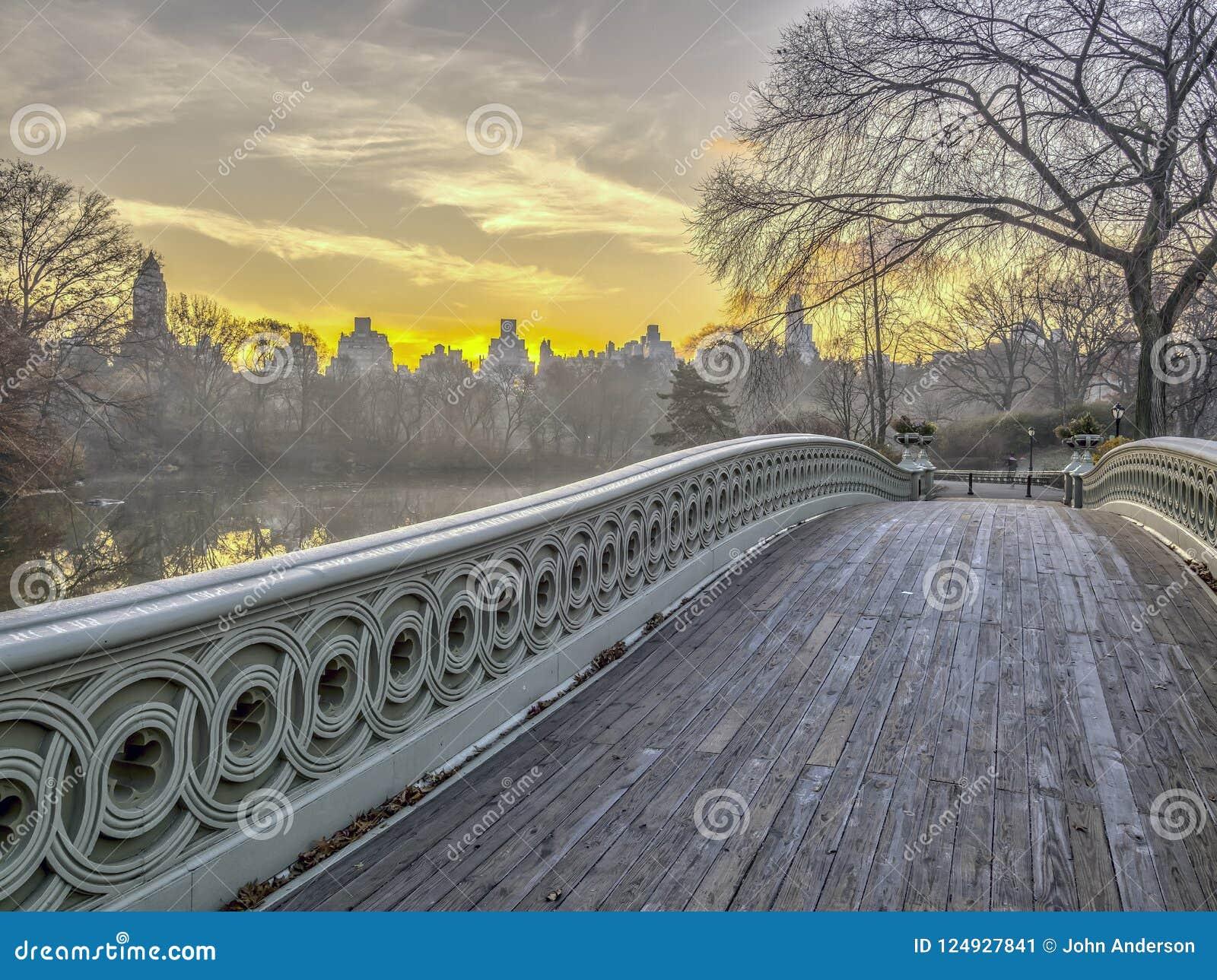 Het Central Park van de boogbrug